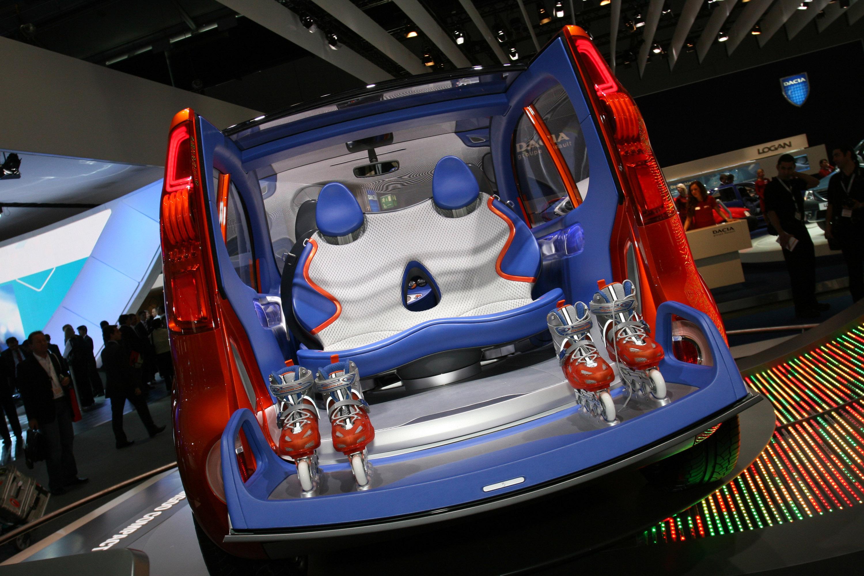 Renault Kangoo Compact Concept Frankfurt 2011 Picture 59055