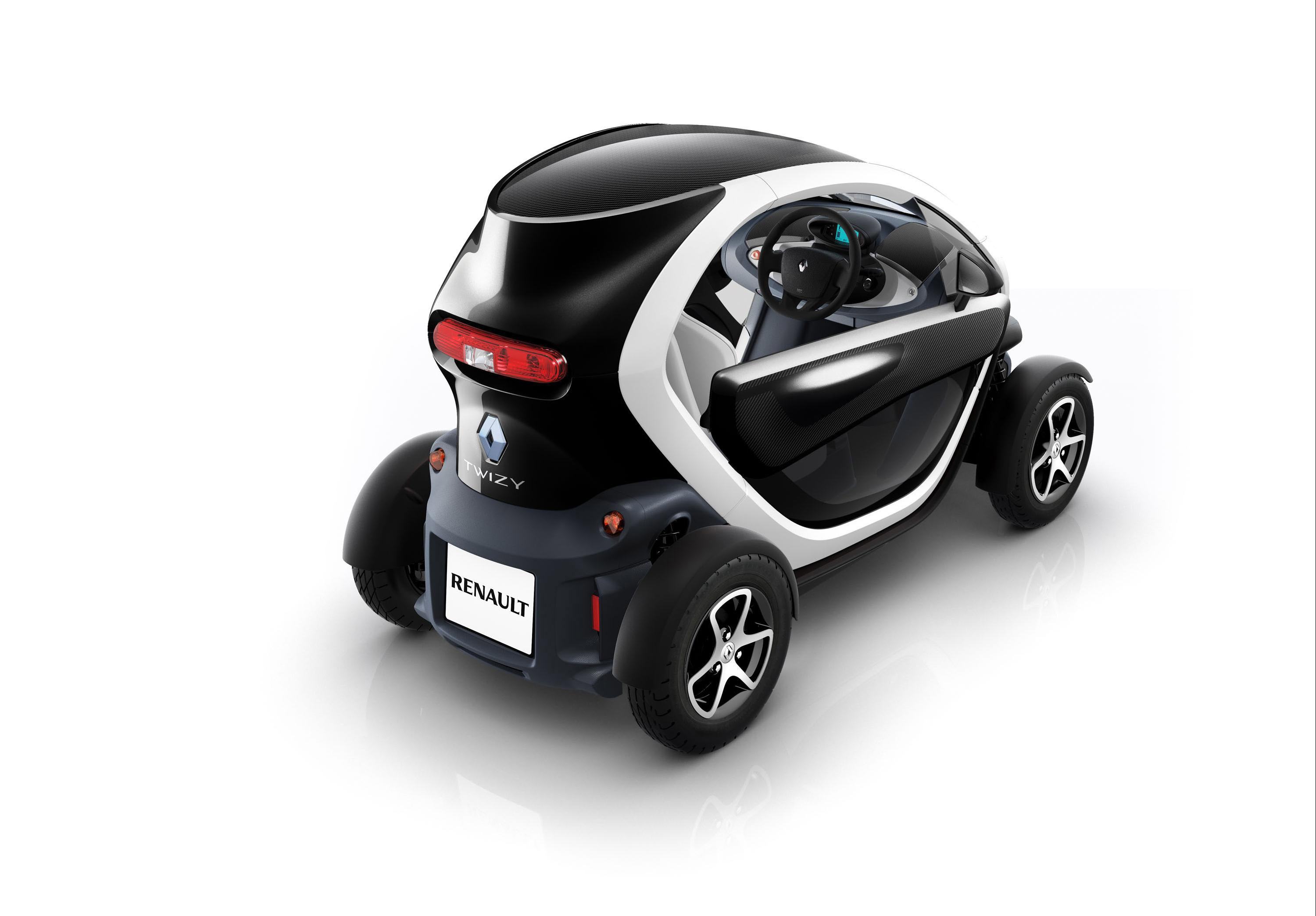 Air Bag Jack >> Renault Twizy ZE - £6 690