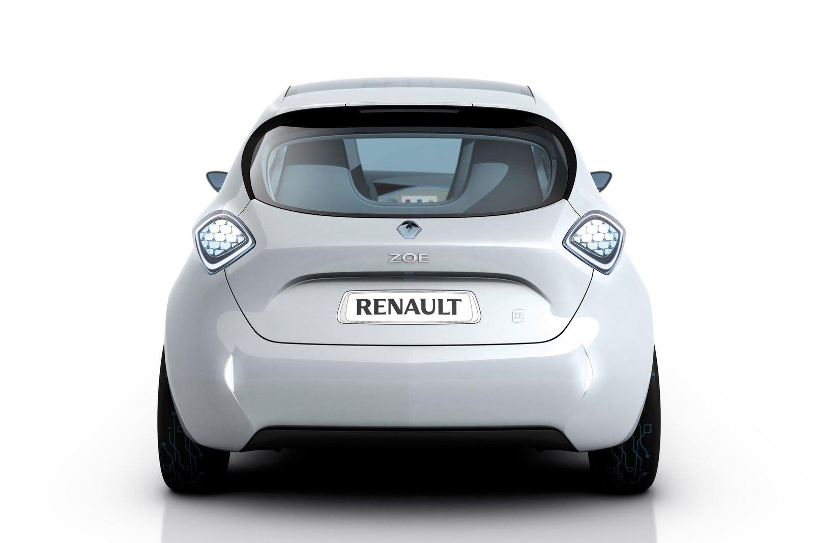 Renault Zoe Miles Only On Electricity