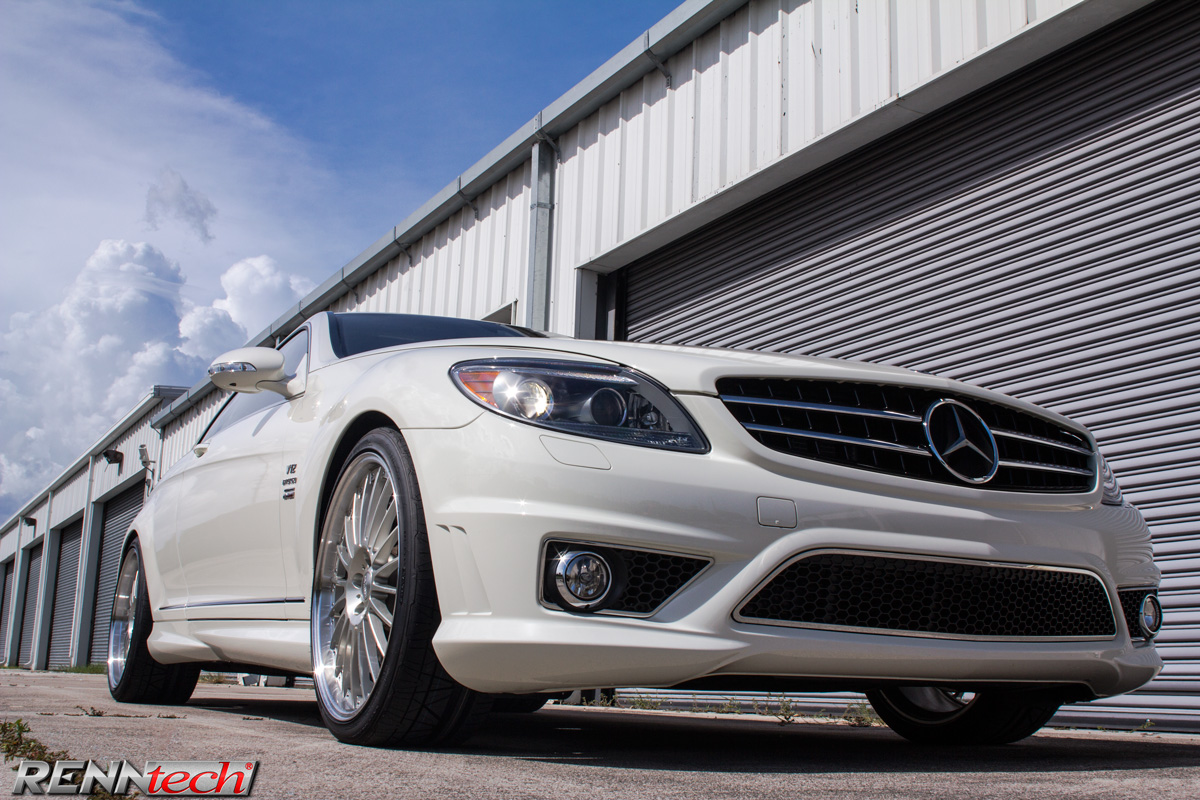 RENNtech Mercedes-Benz CL 65 with Multi Spoke Forged Wheels in
