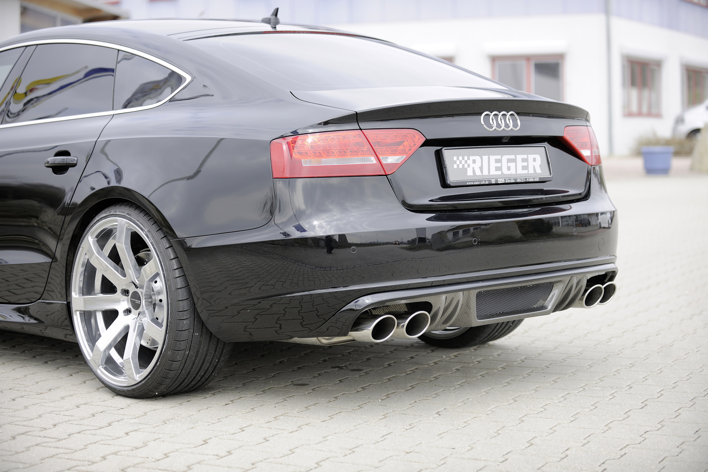 Rieger S Audi A5 Sportback Bringing The Rs Spirit