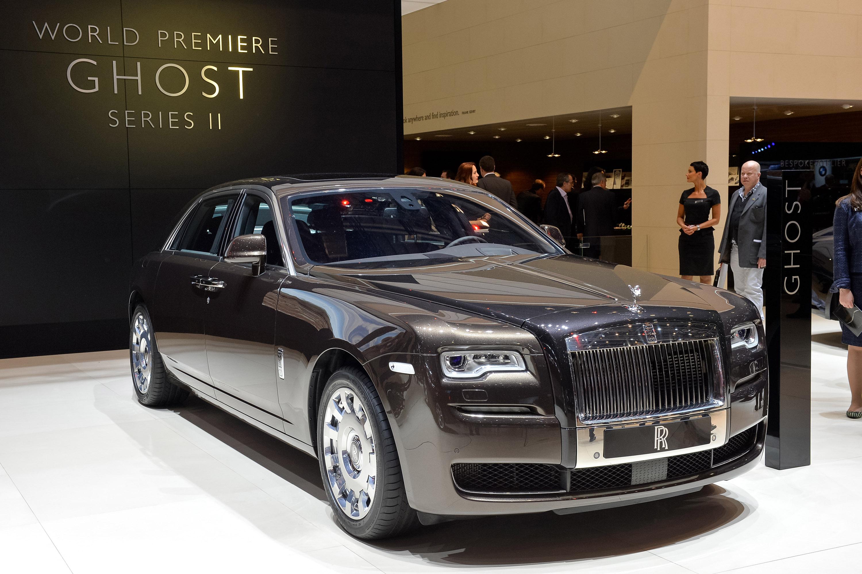 Rolls Royce Ghost Series Ii Geneva 2014 Picture 99743