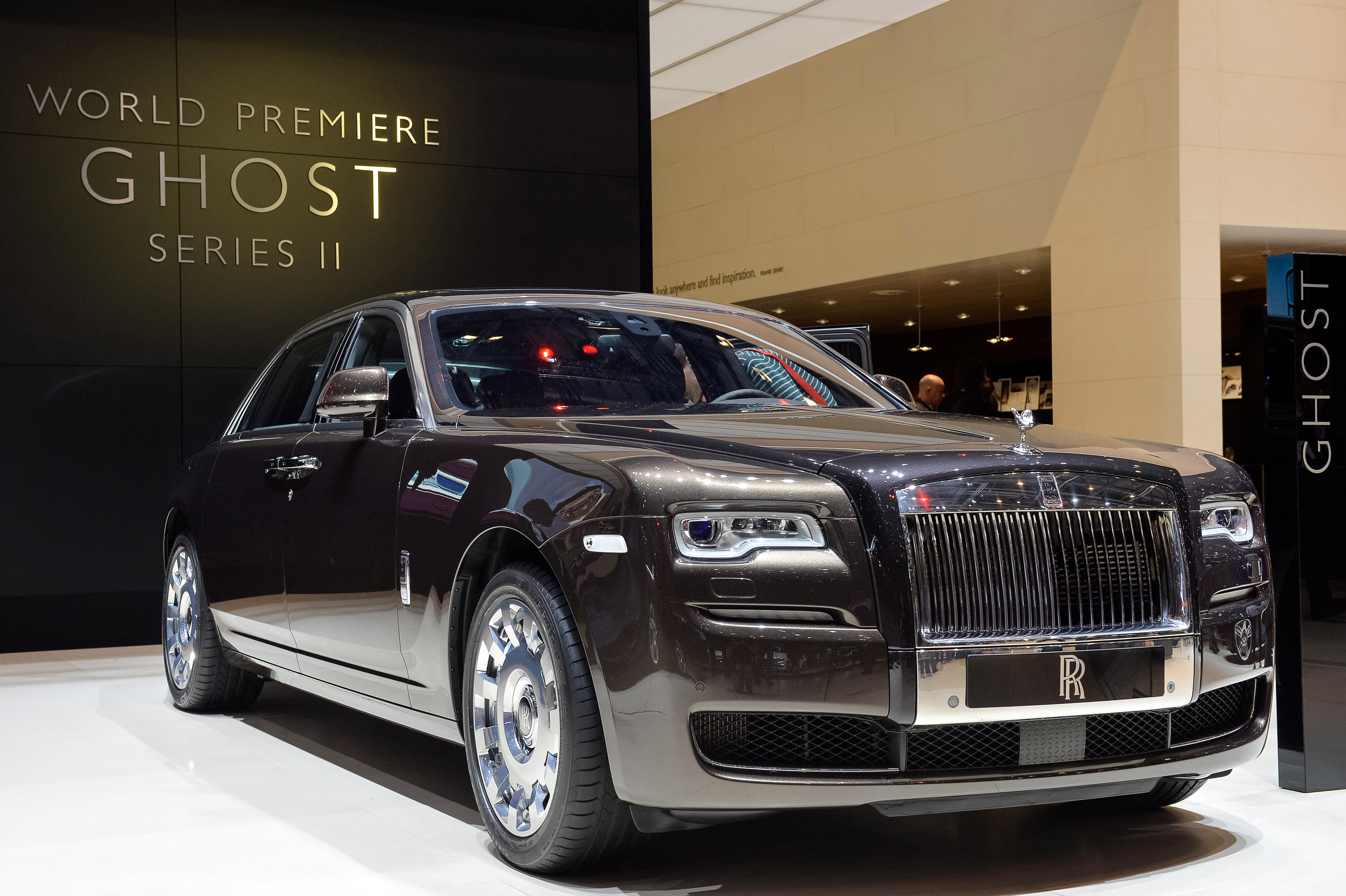 Rolls Royce Ghost Series Ii Geneva 2014 Picture 99744