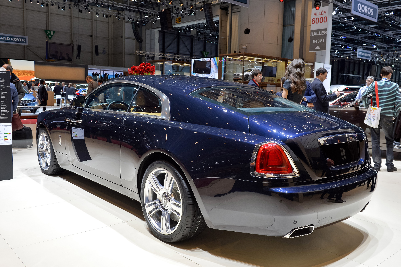 2014 Rolls Royce Wraith Geneva
