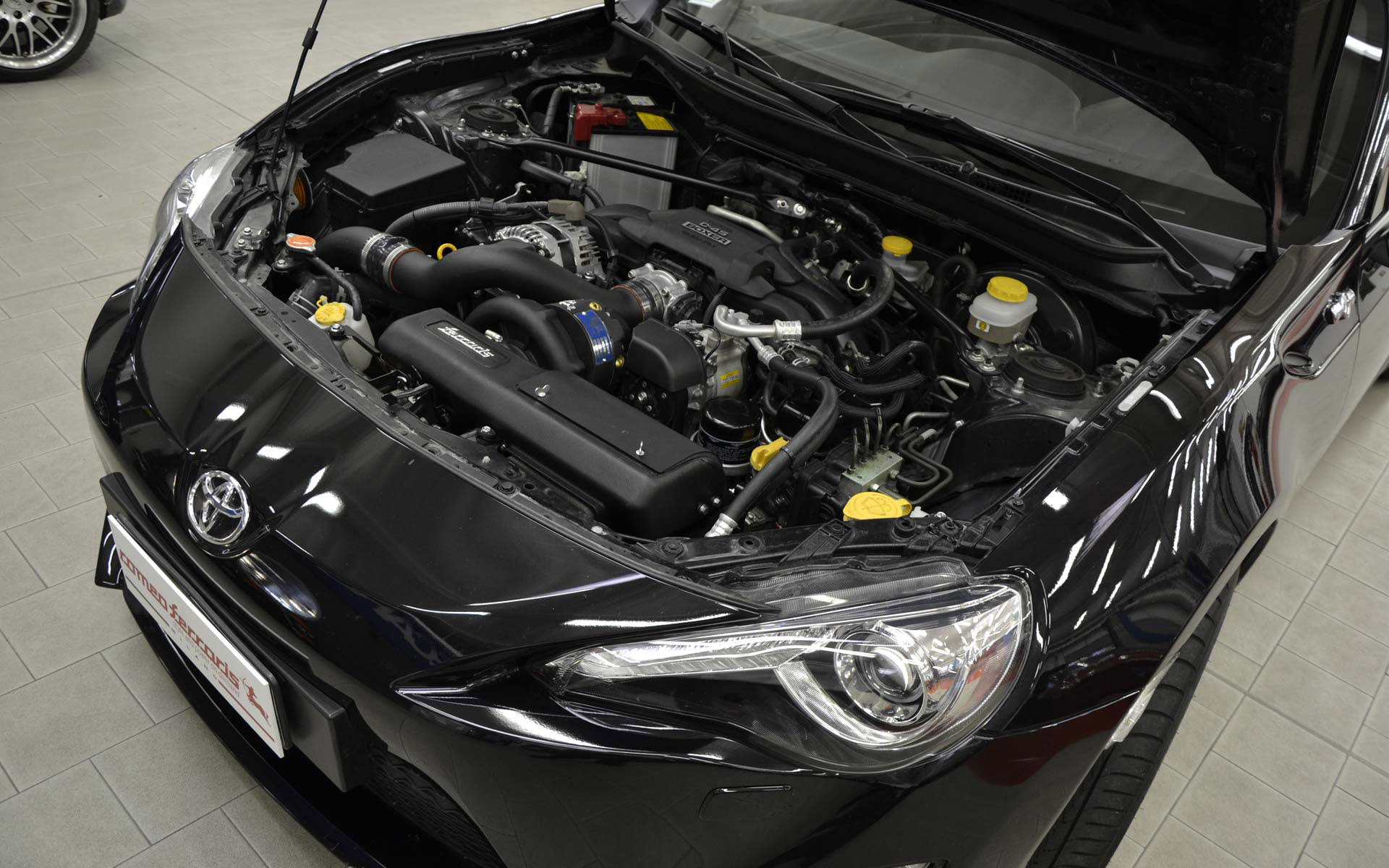 Romeo Ferraris Performance Boost For Toyota Gt86