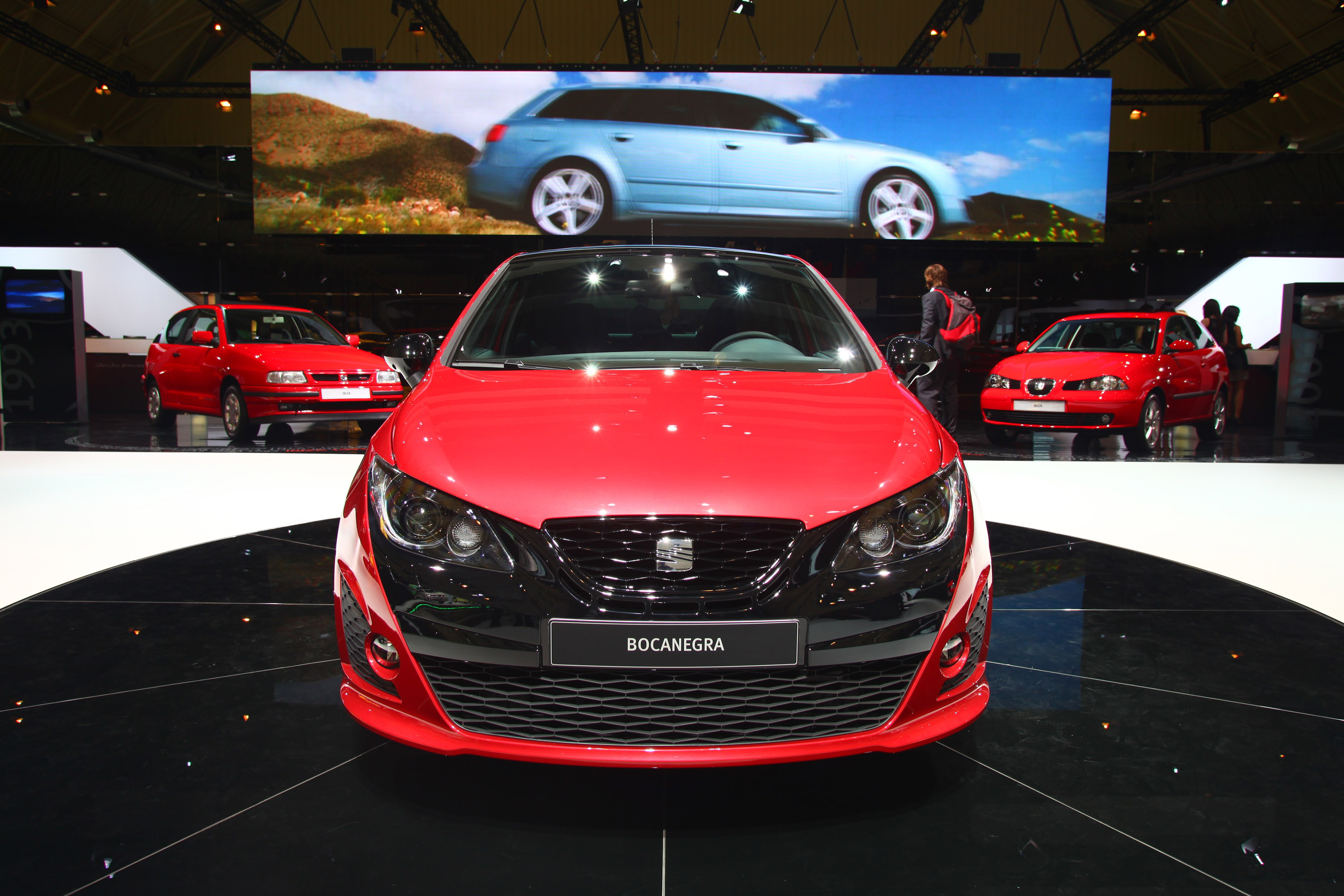 SEAT Ibiza Bocanegra at the Barcelona Motor Show - Picture ...
