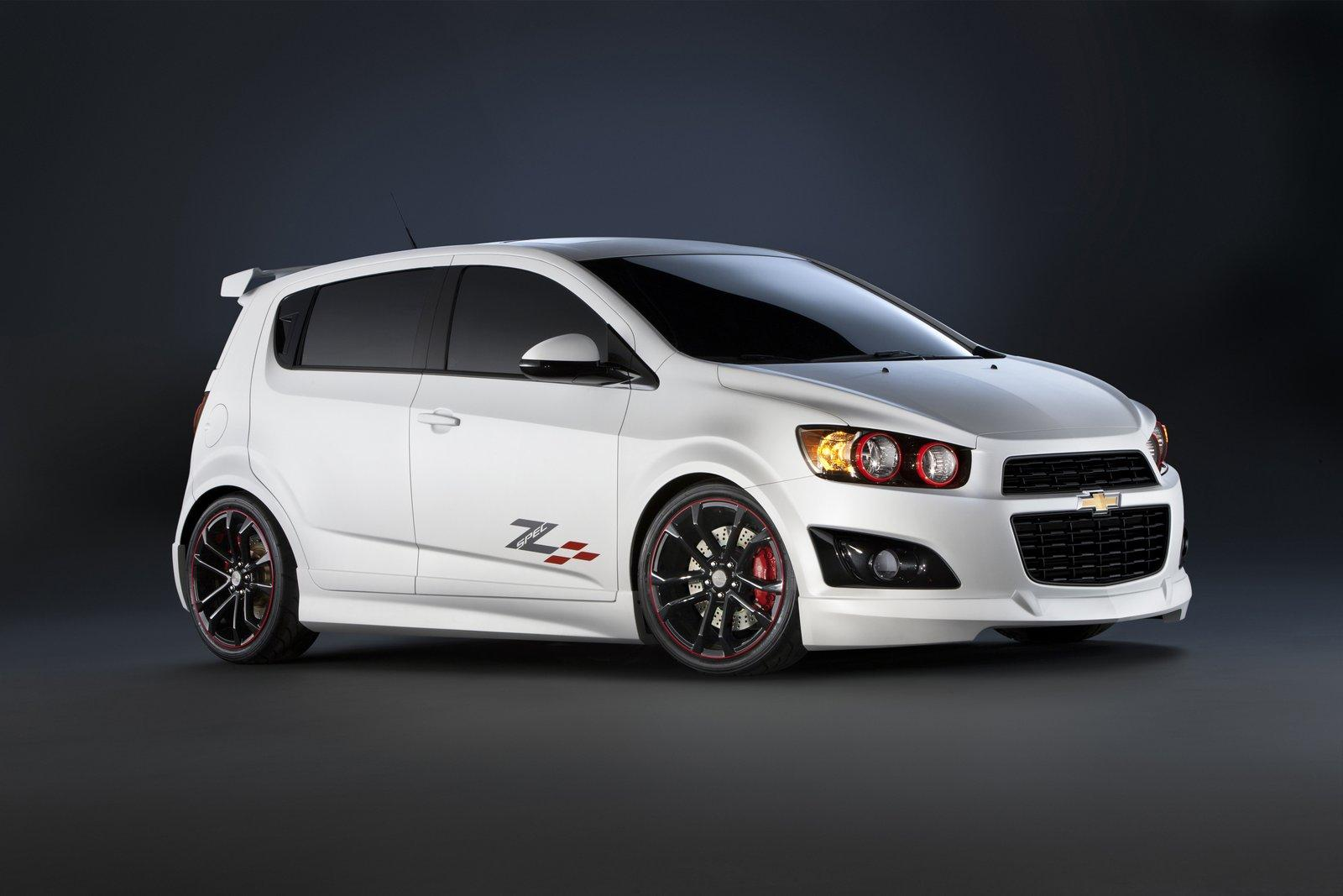 chevrolet sonic z spec concepts. Black Bedroom Furniture Sets. Home Design Ideas