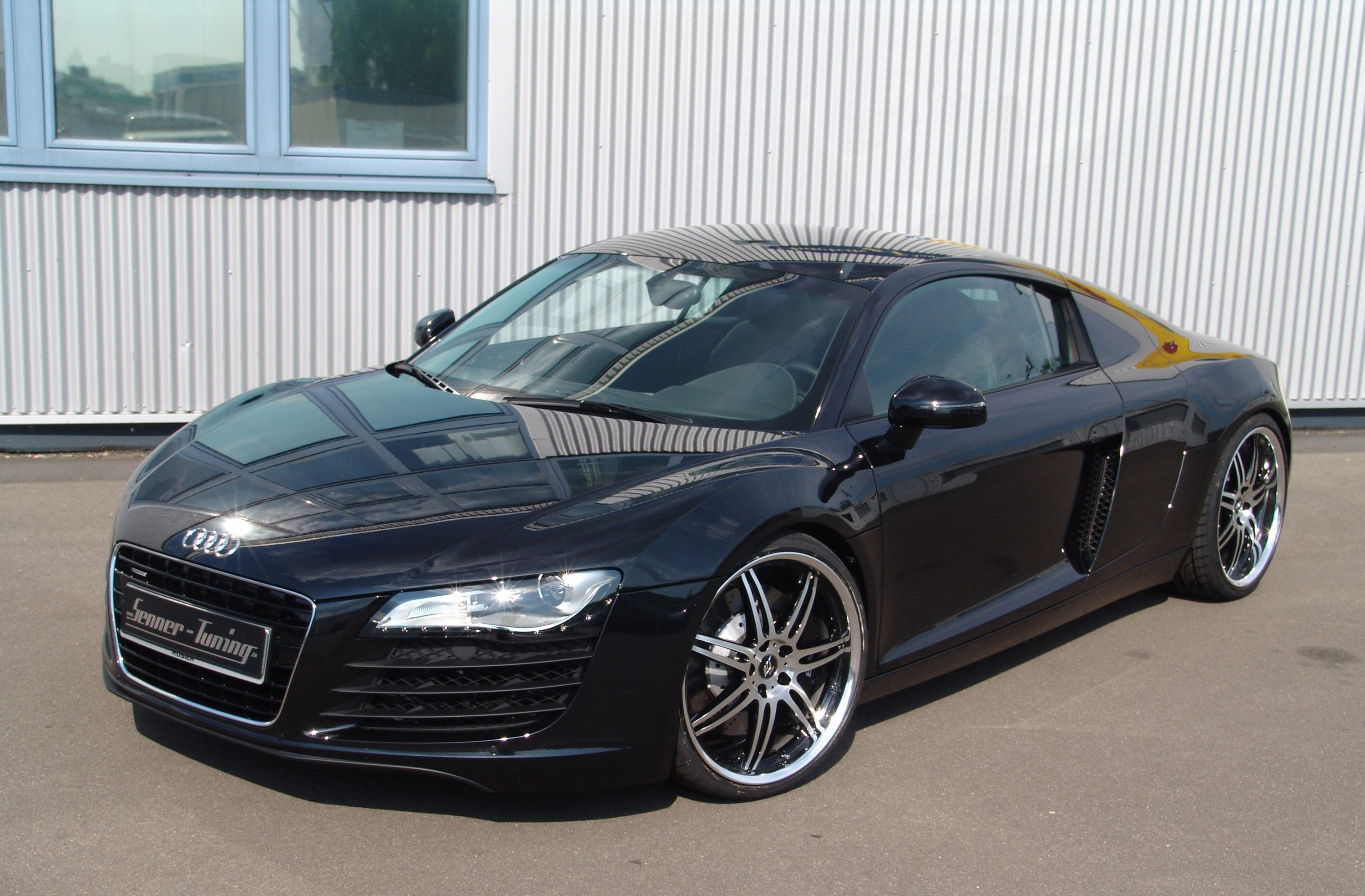 audi r8 super sport concept by senner tuning. Black Bedroom Furniture Sets. Home Design Ideas