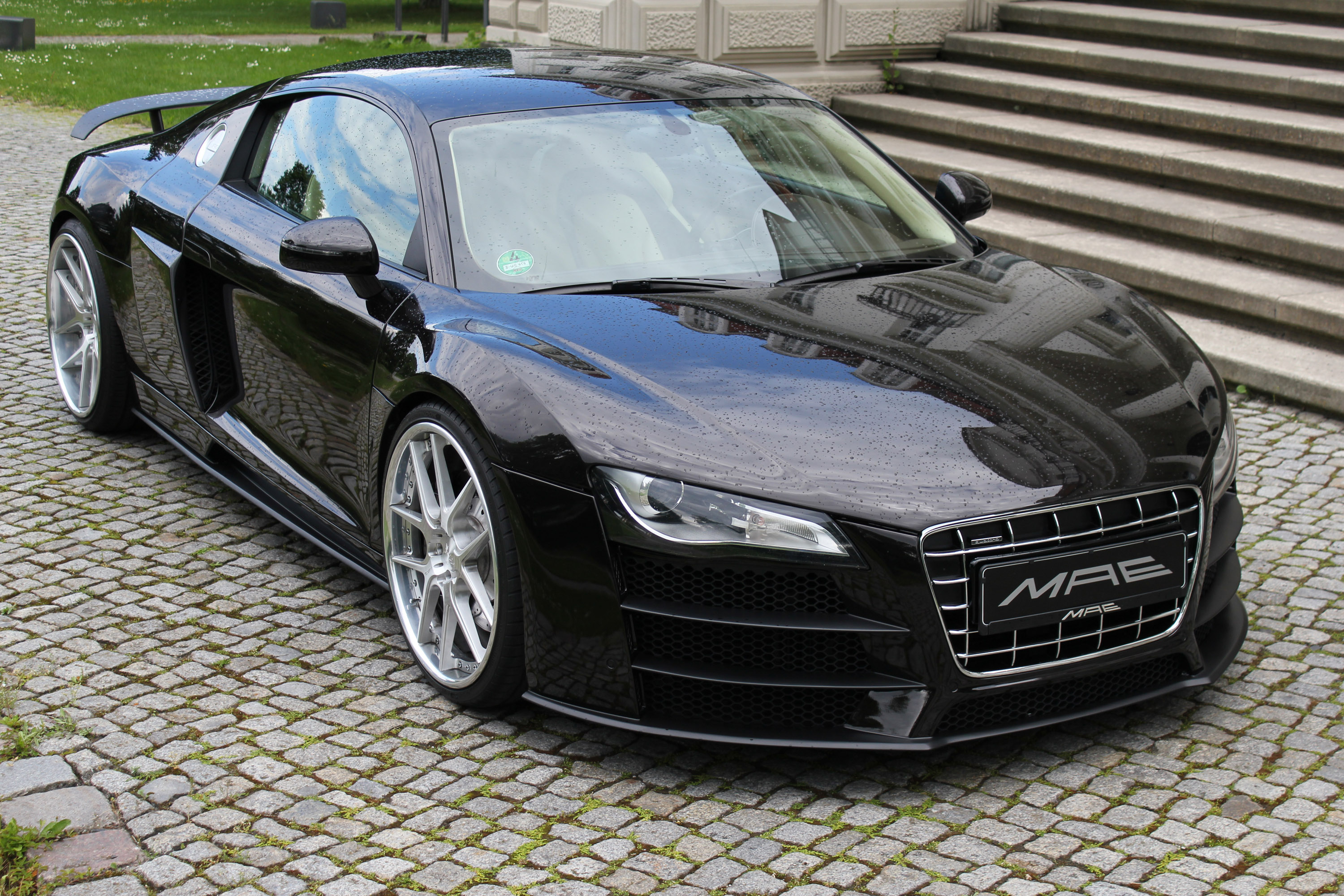 Sga Aerodynamics Gives Audi R8 New Gt Aero Kit
