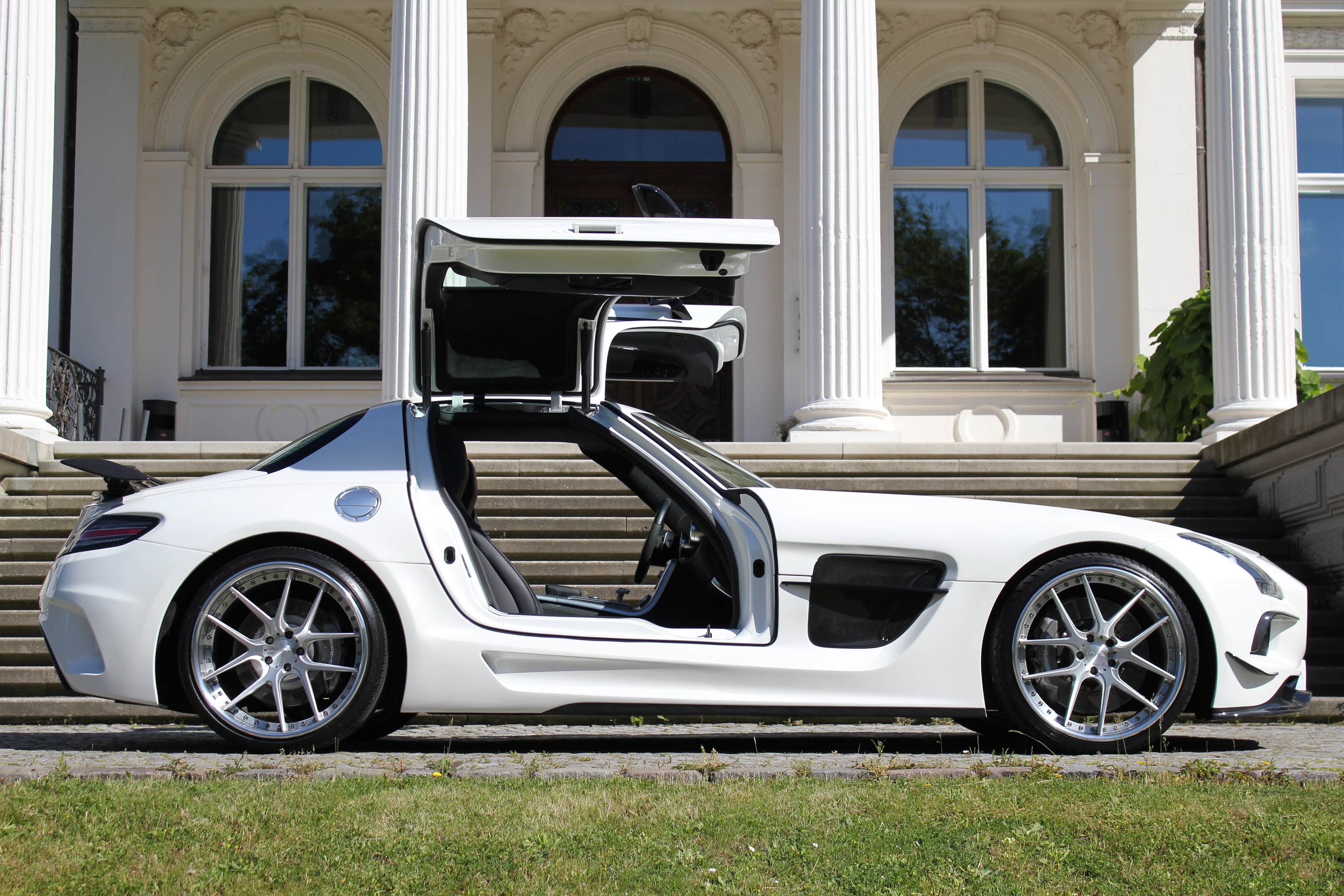 sga aerodynamics mercedes benz sls amg black series