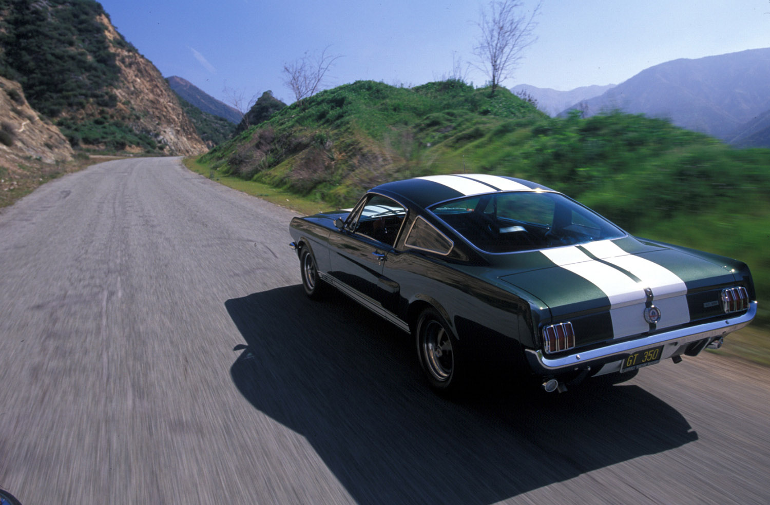 Ford Looks Forward To 45th Anniversary Of Mustang 1964 Fastback 1966 Shelby Gt 350
