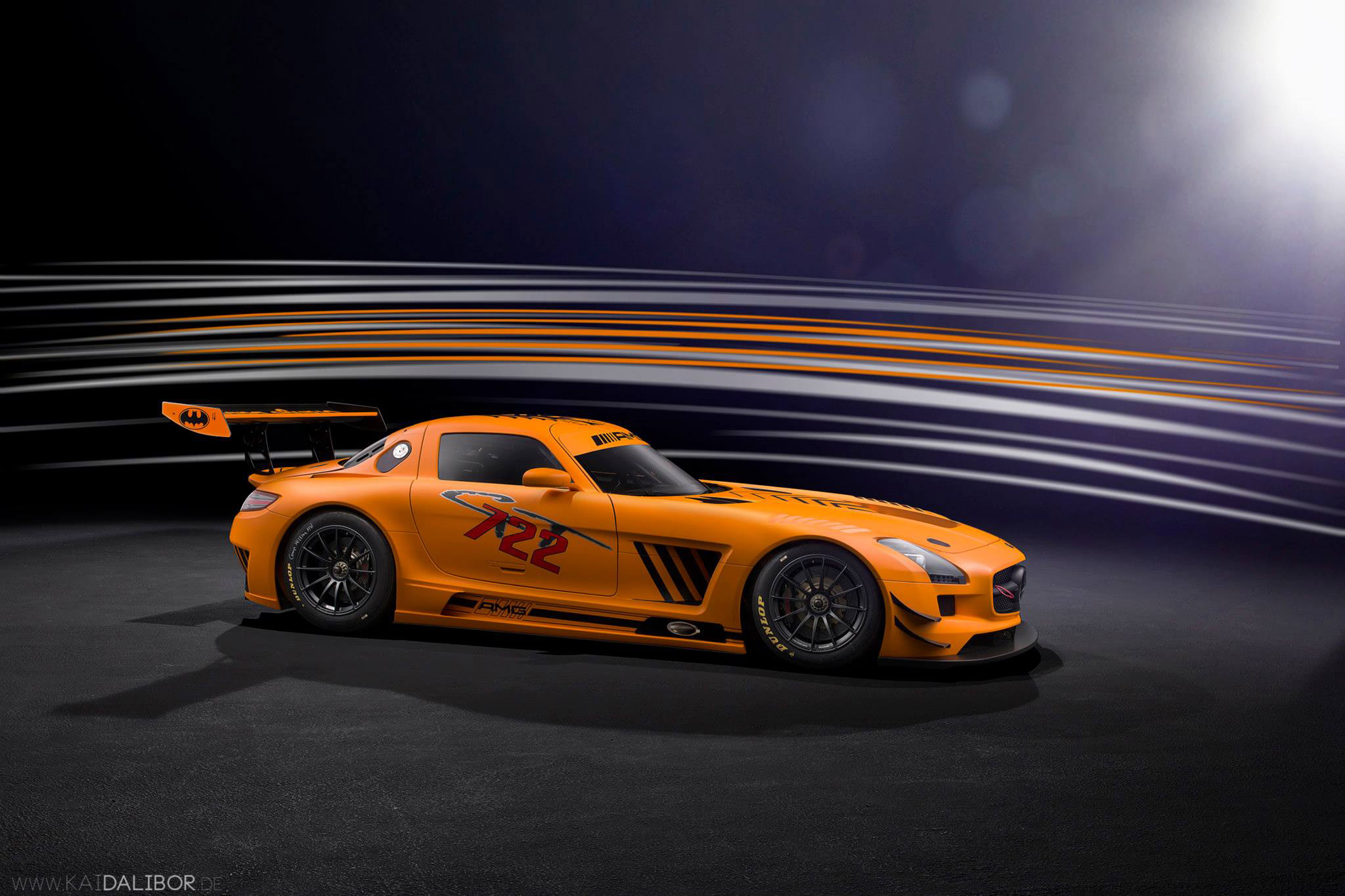 Sievers Tuning Mercedes Benz Sls Amg Gt3 45th Anniversary