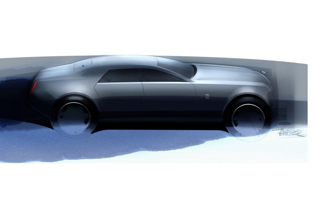 Sketches Rolls Royce Rr4