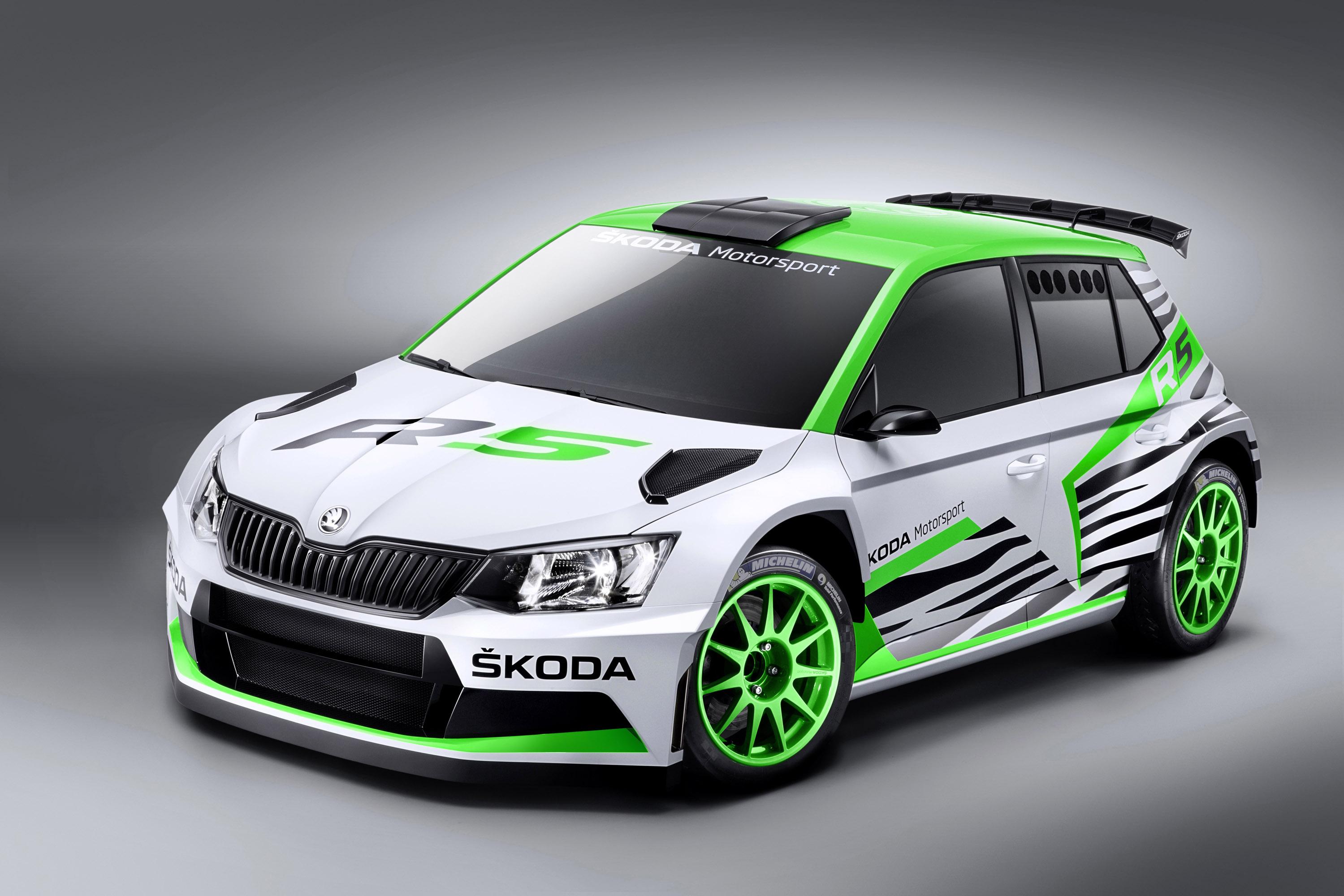 Skoda Fabia R 5 Concept Makes World Premiere at Essen Motor Show