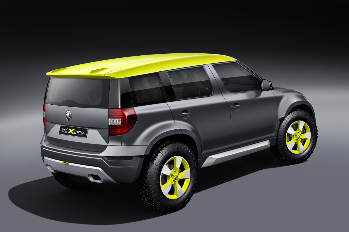 skoda yeti xtreme concept at worthersee. Black Bedroom Furniture Sets. Home Design Ideas