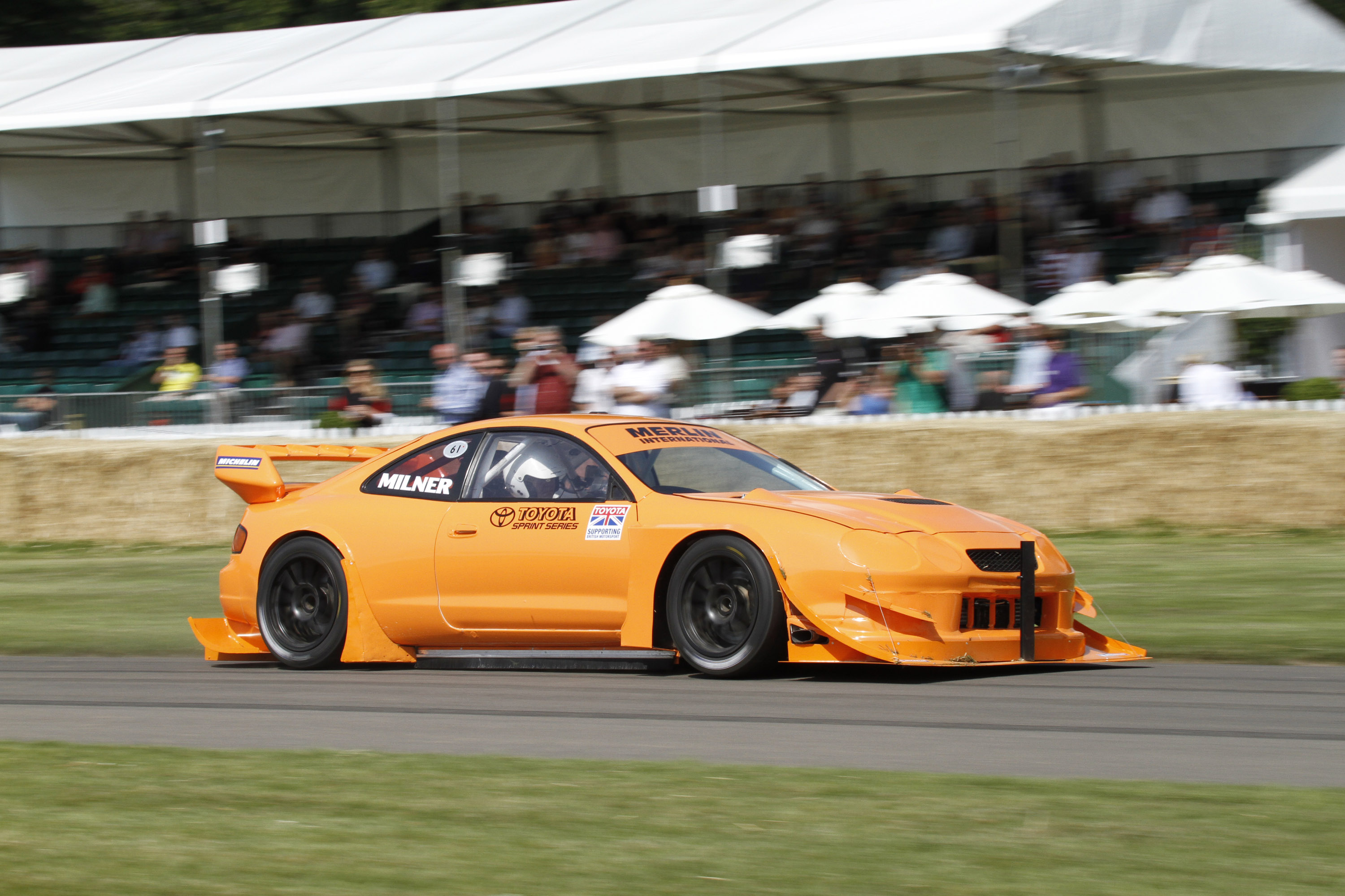 Sprint Series Toyota Celica Gt4 Fastest At The 2011 Goodwood