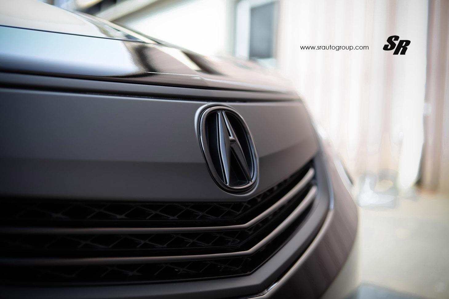 SR Auto Acura TL Picture - Acura emblem black