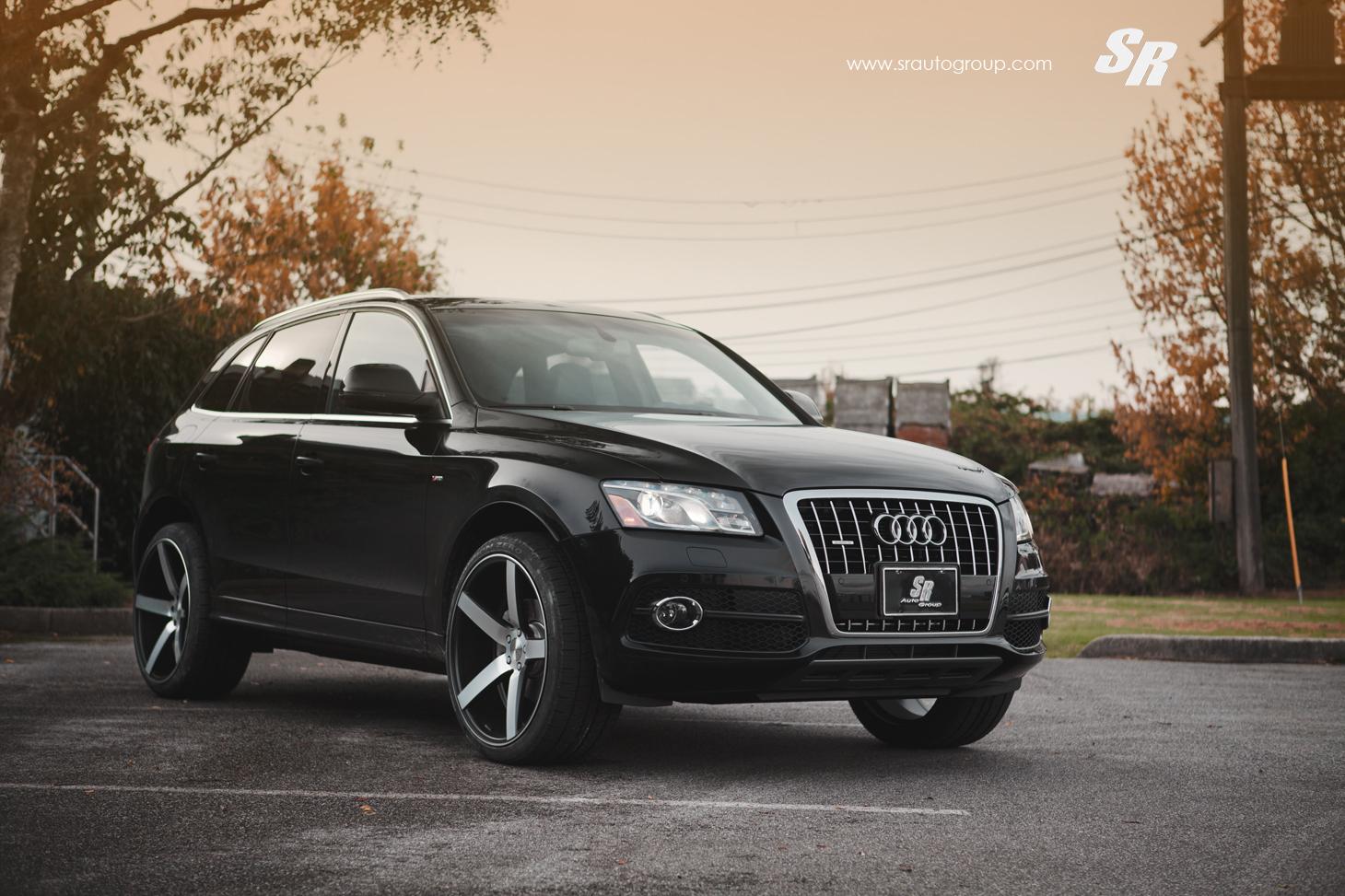 SR Auto Audi Q5 Vossen CV3 - Versatility in Action