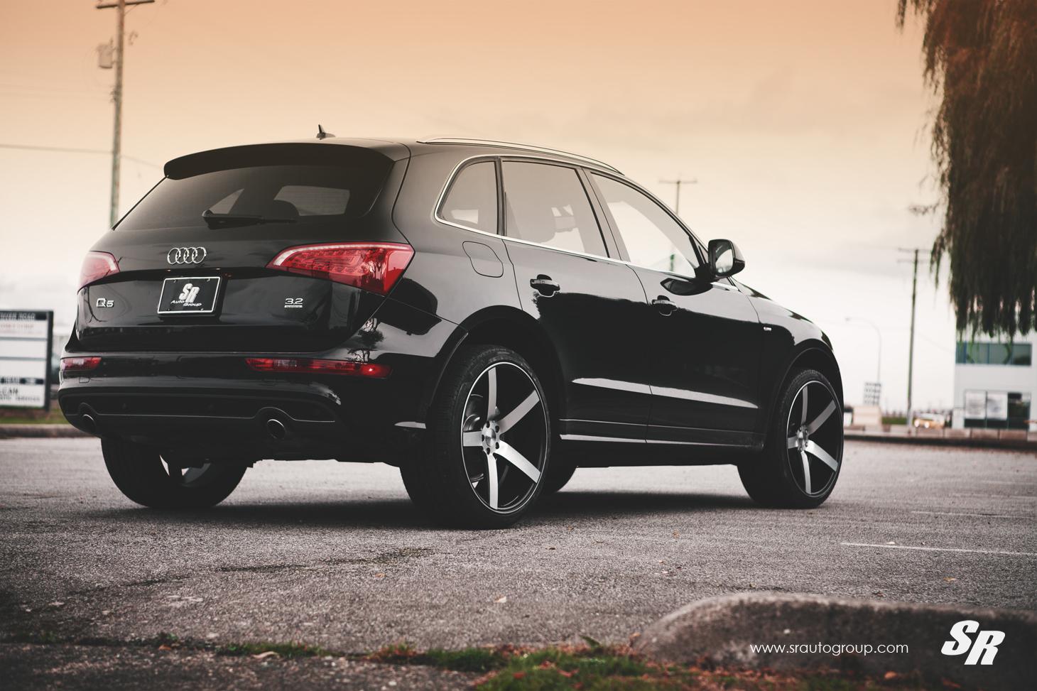 Audi q7 suv vossen wheels tuning cars wallpaper -  Sr Auto Audi Q5 Vossen Cv3