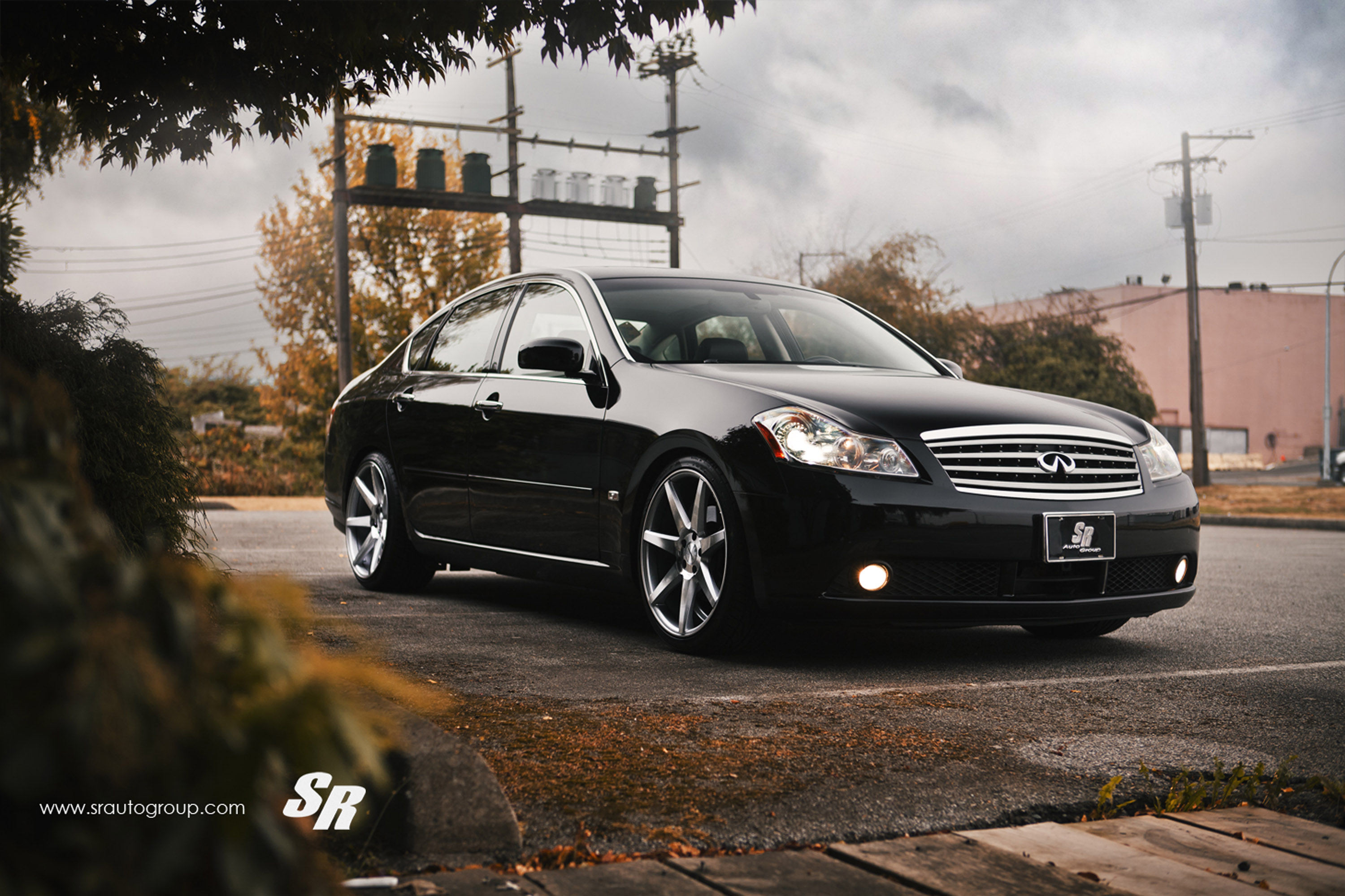 Sr auto infiniti m35 fitted with vossen cv7 sr auto infiniti m35 vossen cv7 vanachro Images