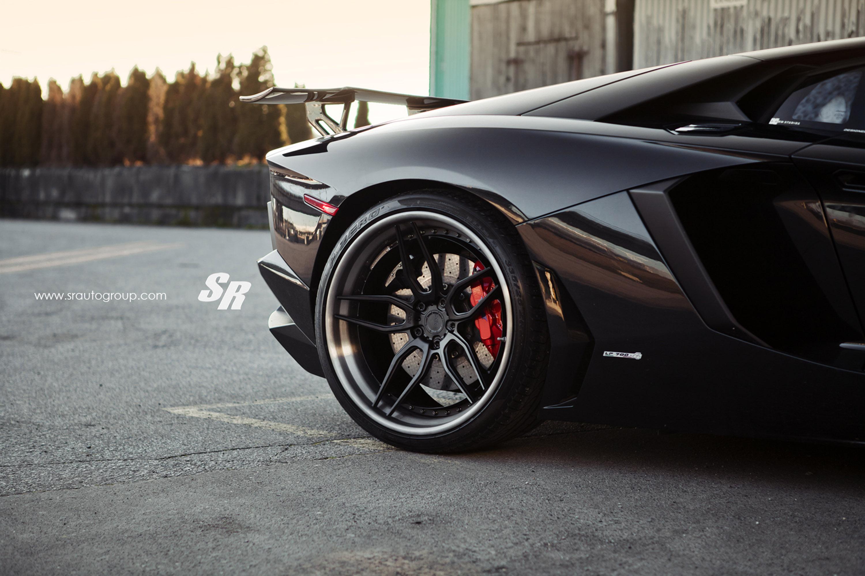 Lamborghini Aventador Is The Black Bull