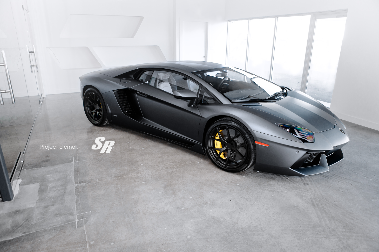 Project Eternal SR Auto Lamborghini Aventador LP 700 Nero