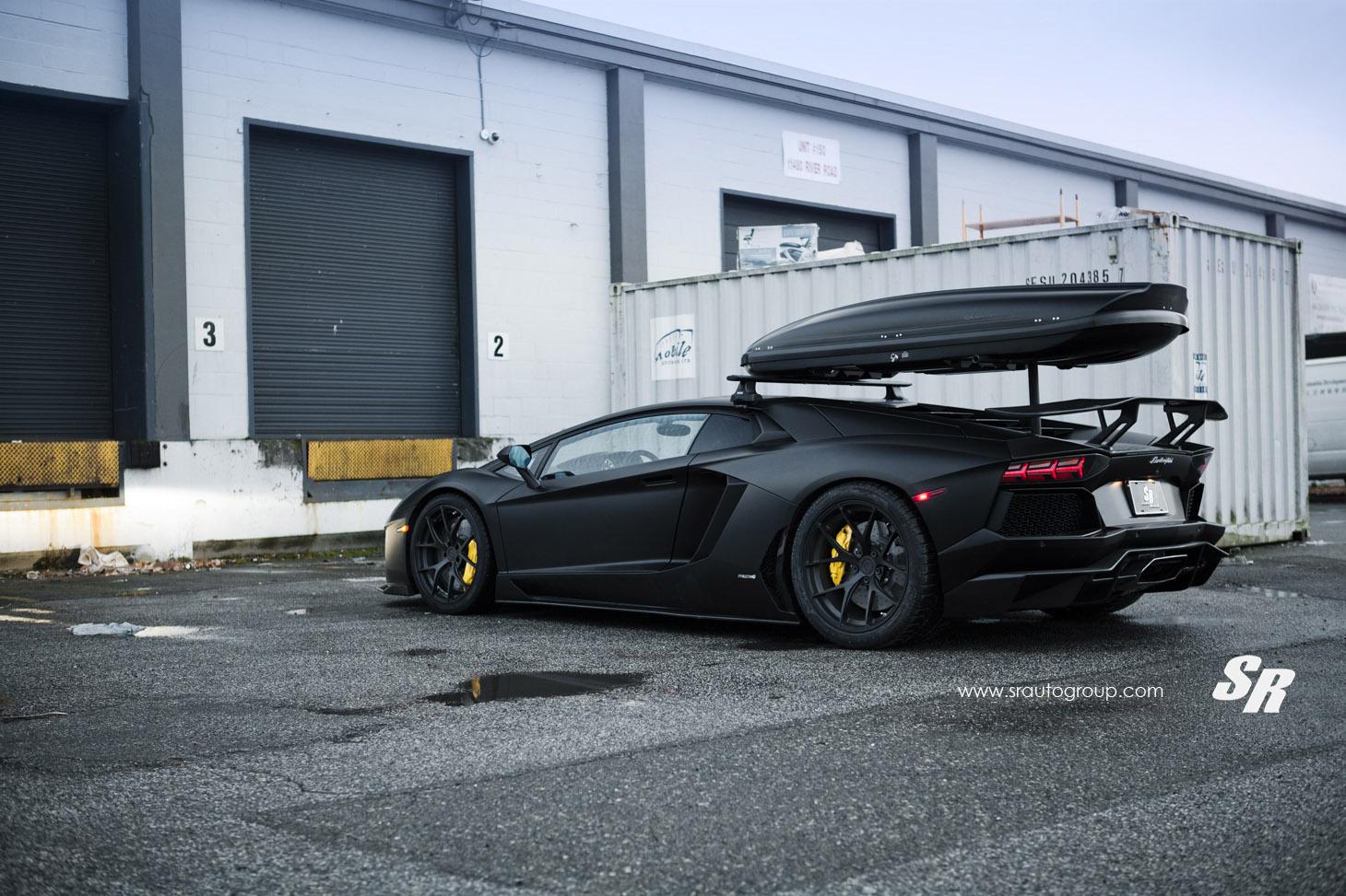 Lamborghini Aventador Lp700 Converted To Winter Edition