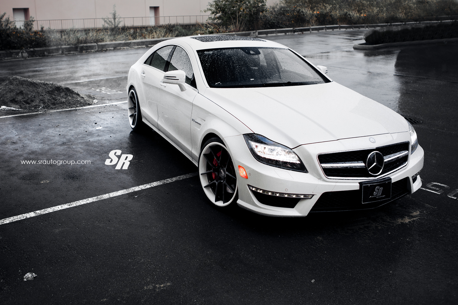Sr auto mercedes benz cls63 amg equipped with adv 5 0 wheels for Mercedes benz cls500