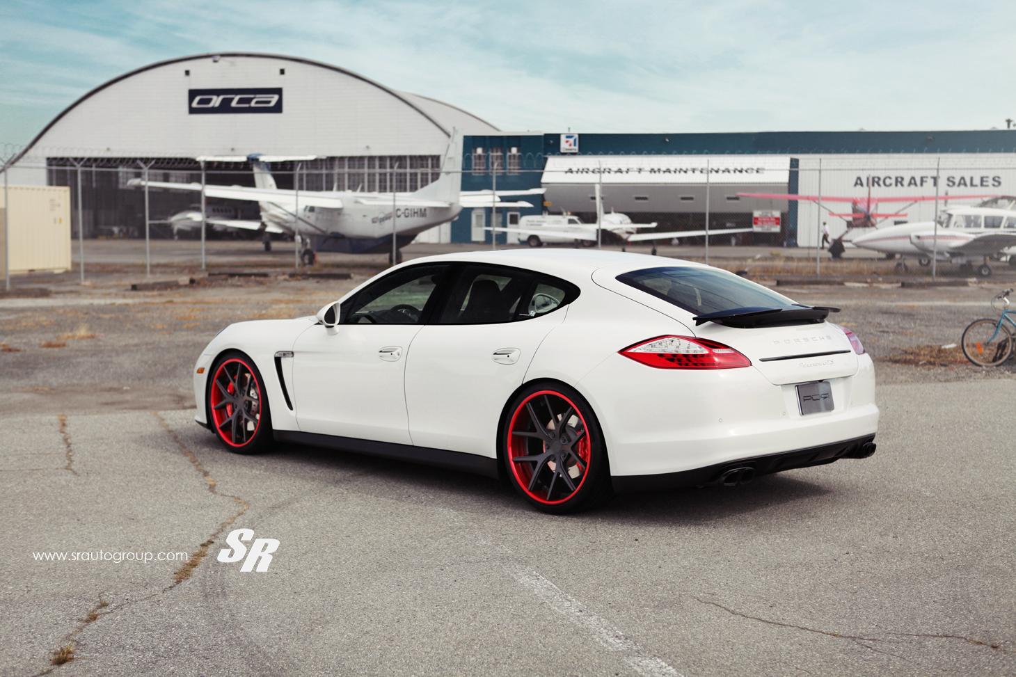 Sr Auto Porsche Panamera Gts Project Crimson Crusader