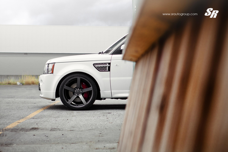 Sr Auto Range Rover Made Sharper With Vossen Cv3