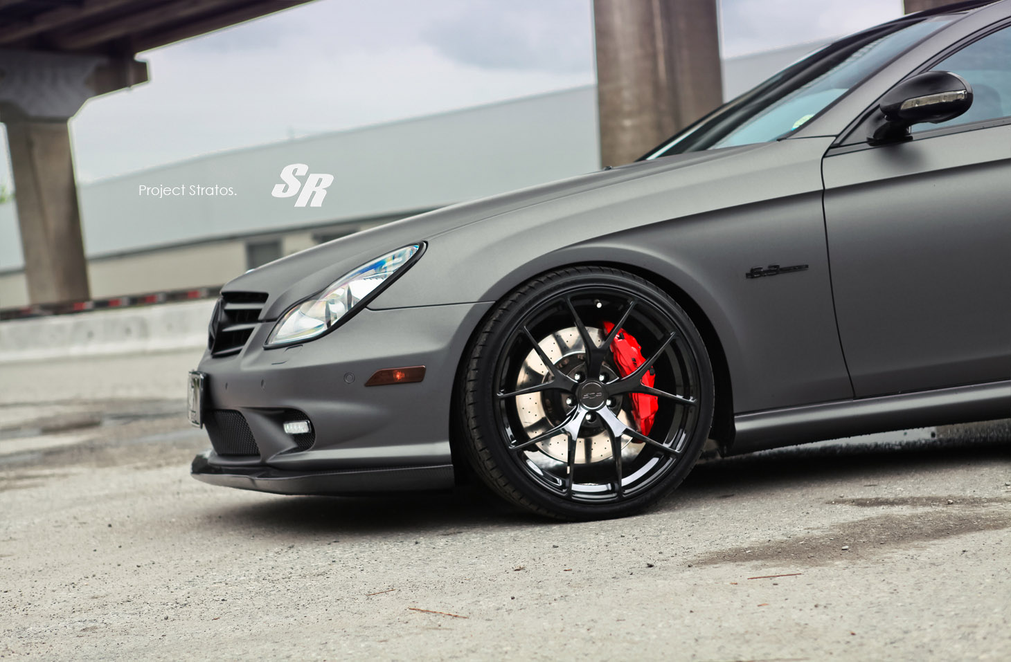 Sr Project Stratos Mercedes Benz Cls 63 Amg