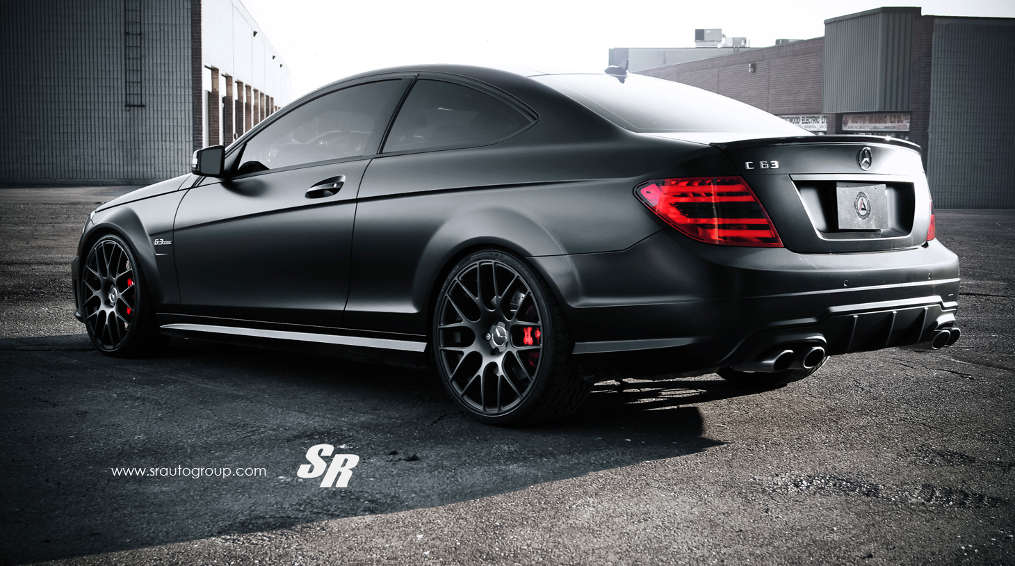 SR Mercedes Benz C63 AMG Picture 64723