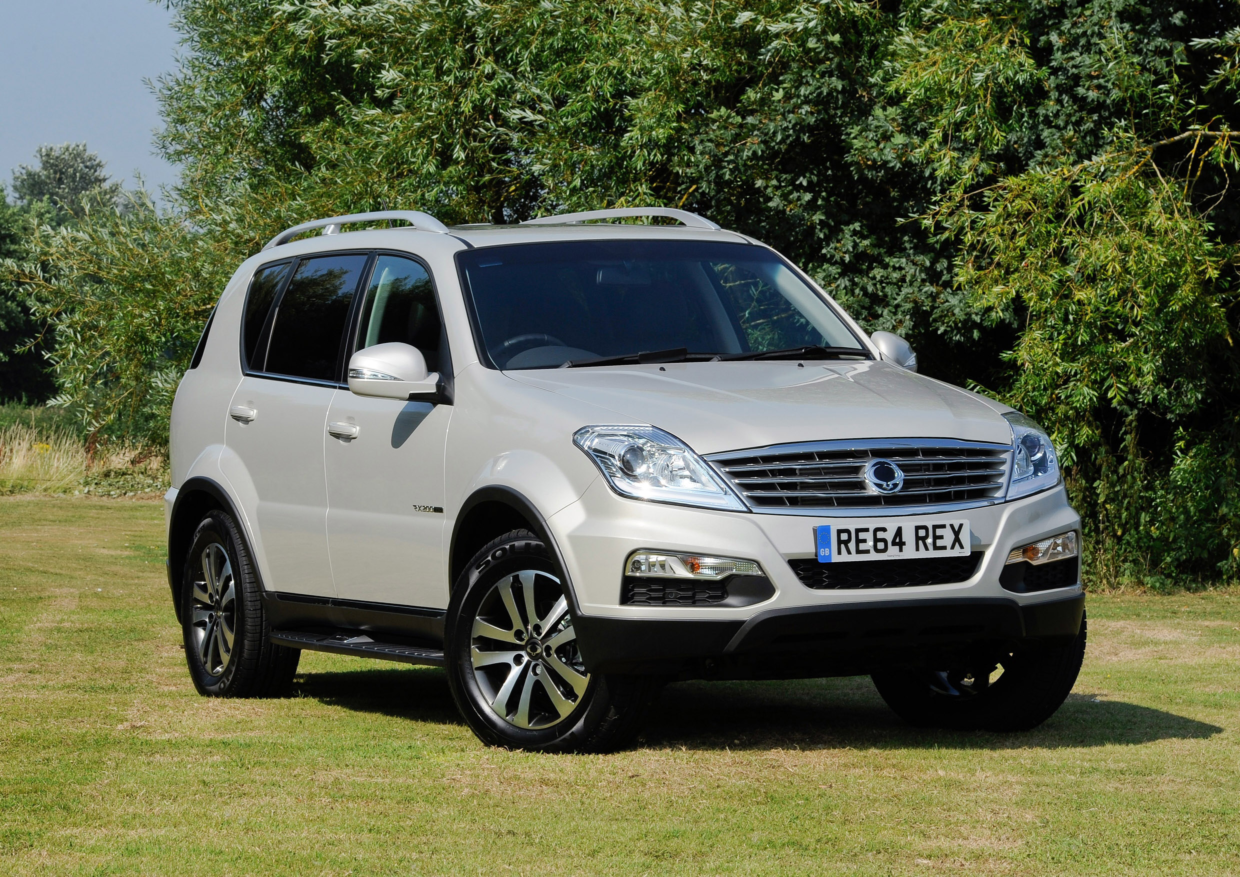 ssangyong rexton w and korando 60th anniversary picture. Black Bedroom Furniture Sets. Home Design Ideas