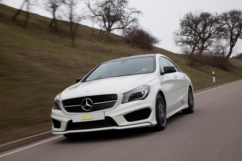 St suspensions mercedes benz cla class for Mercedes benz cla class review