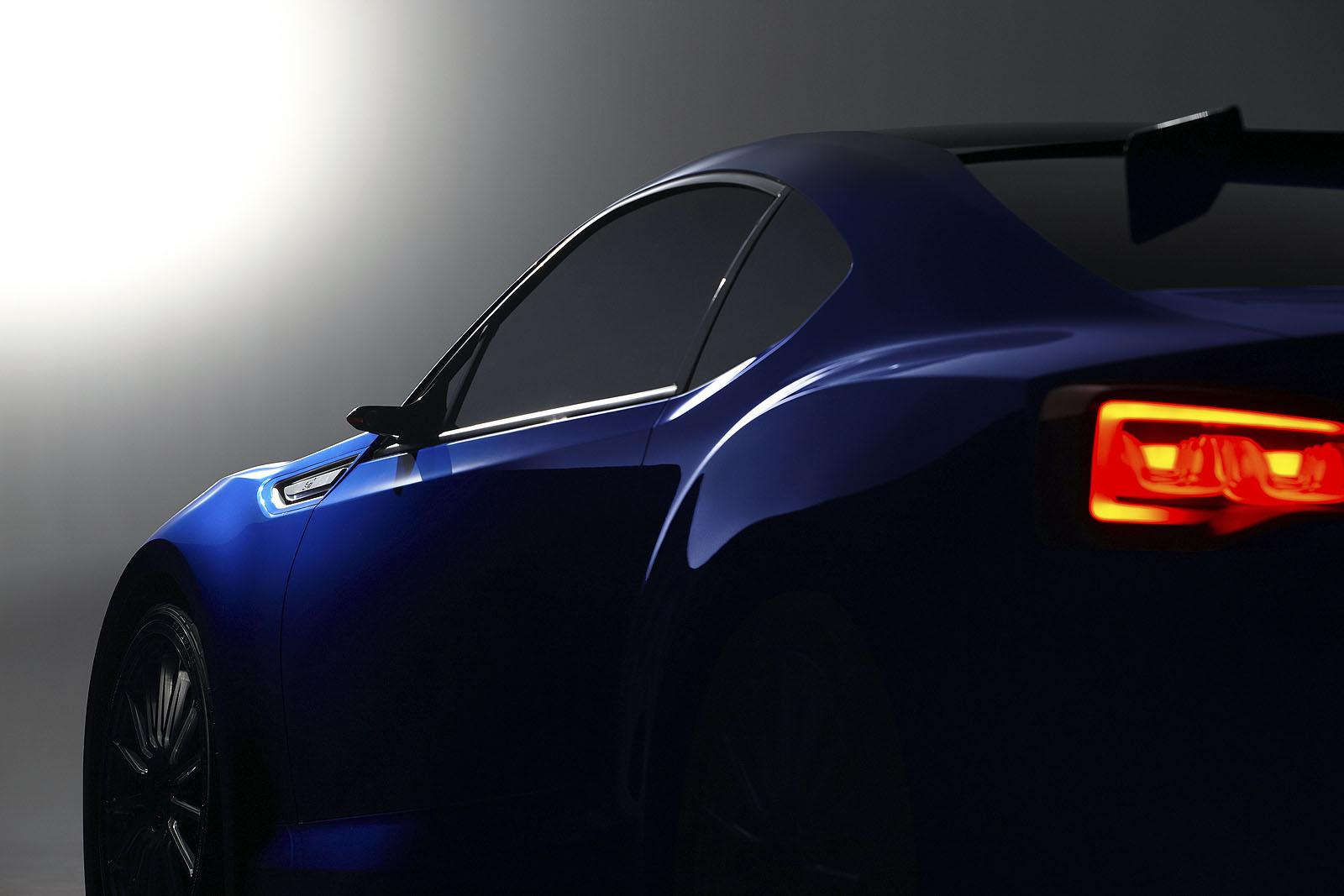 Subaru brz sti concept subaru brz sti concept vanachro Image collections