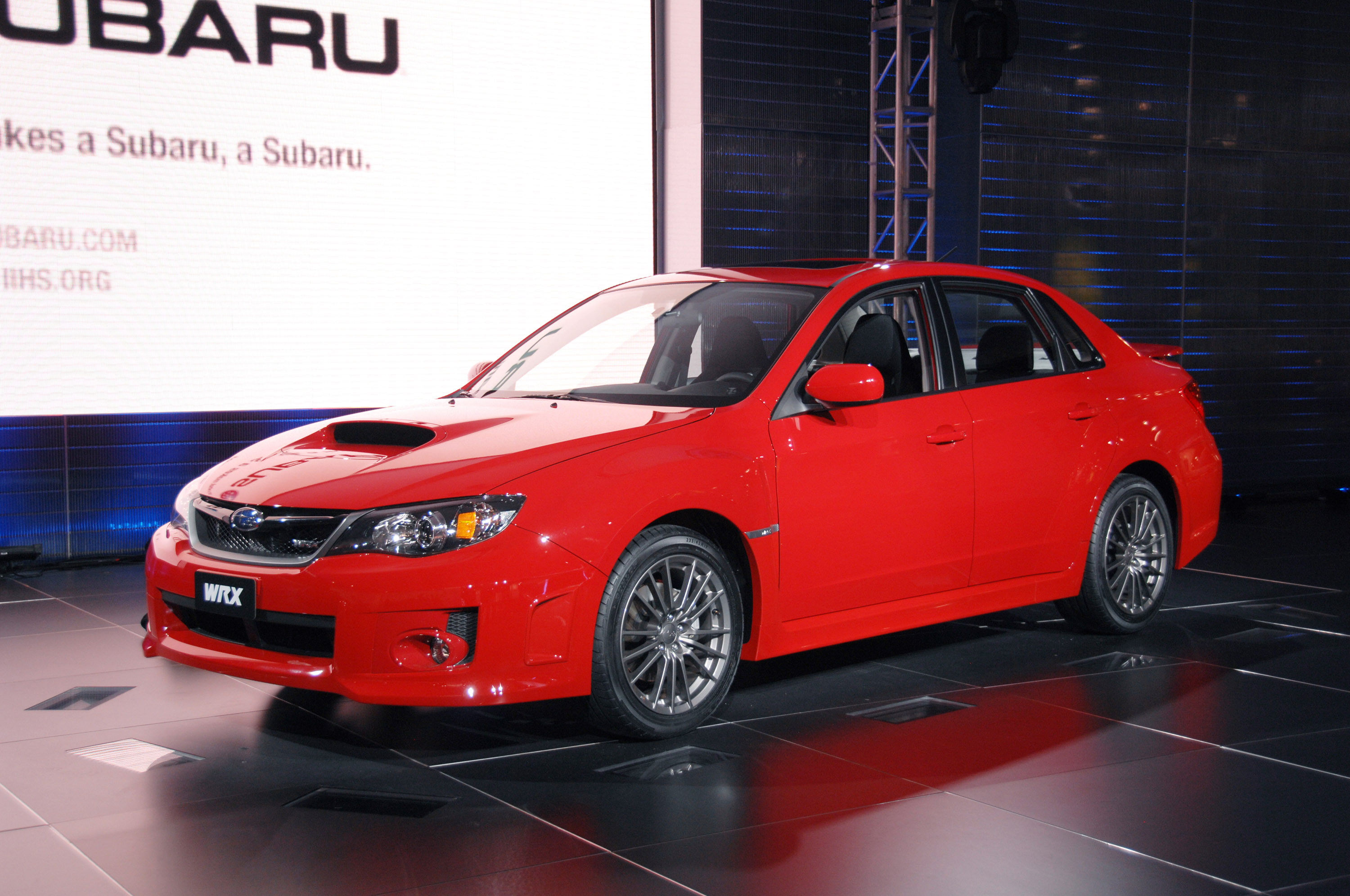 Subaru Impreza Wrx Premium 4 Door New York 2010 Picture 36364