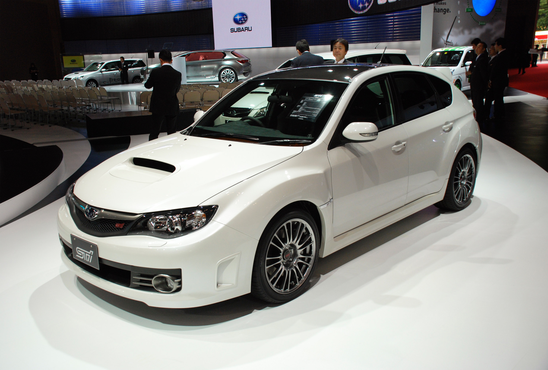 Subaru Impreza WRX STi Carbon at Tokyo Motor Show