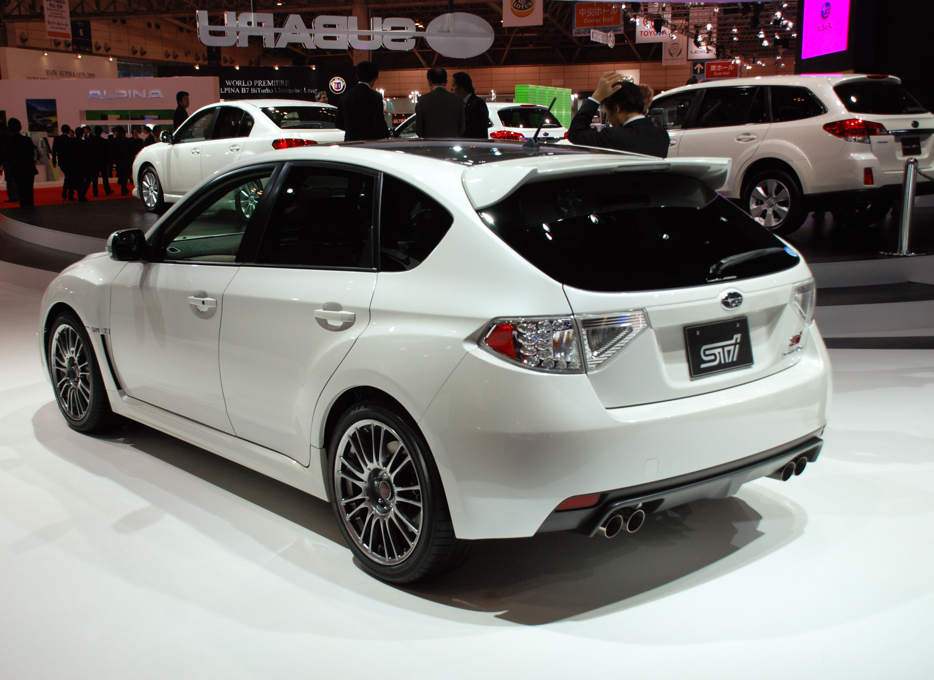 subaru impreza wrx sti carbon at tokyo motor show. Black Bedroom Furniture Sets. Home Design Ideas