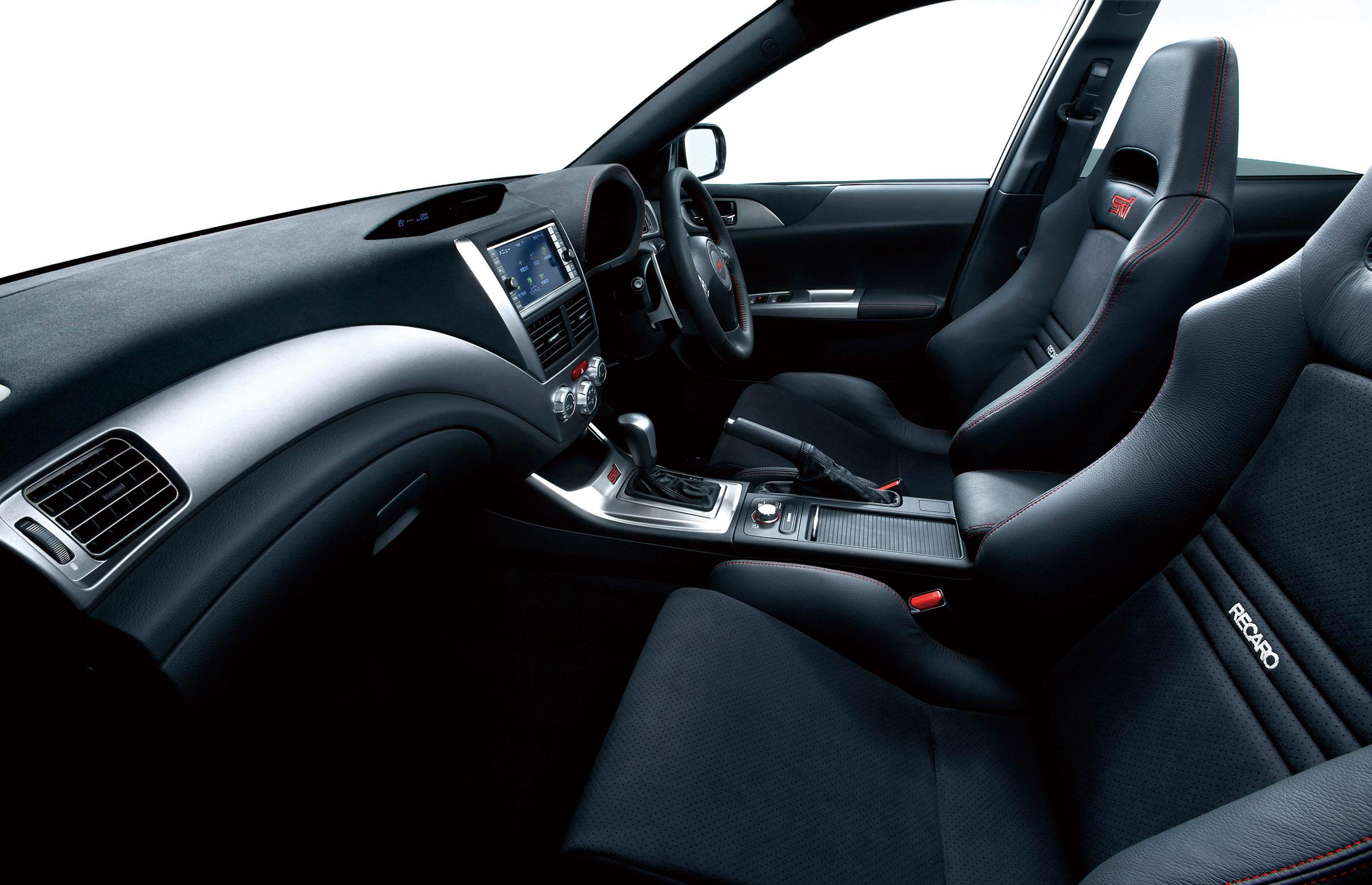 subaru impreza wrx sti carbon exclusive at tokyo motor show 2009. Black Bedroom Furniture Sets. Home Design Ideas
