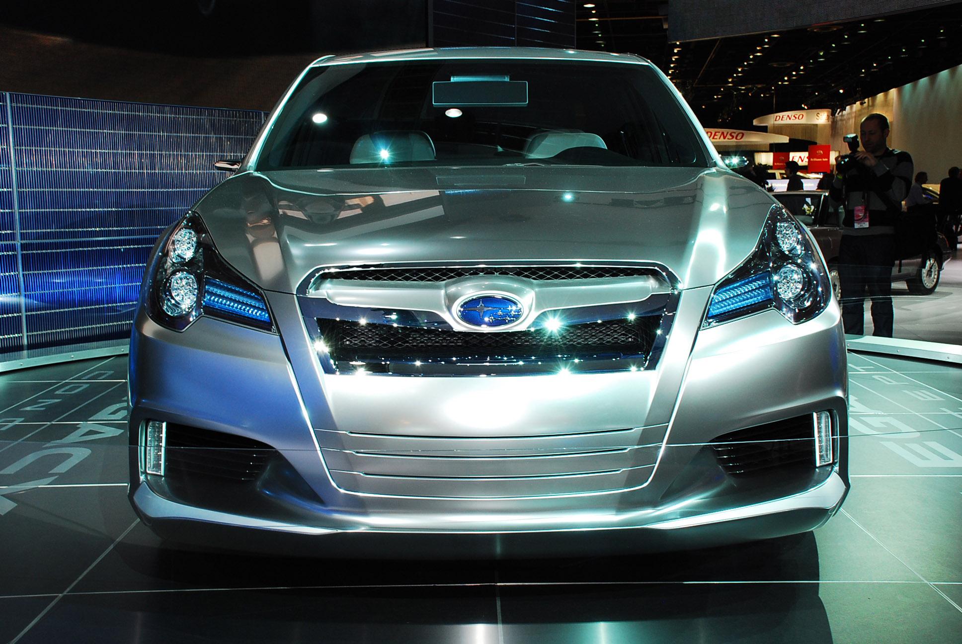 Subaru legacy concept detroit 2009 picture 48030 subaru legacy concept detroit vanachro Image collections