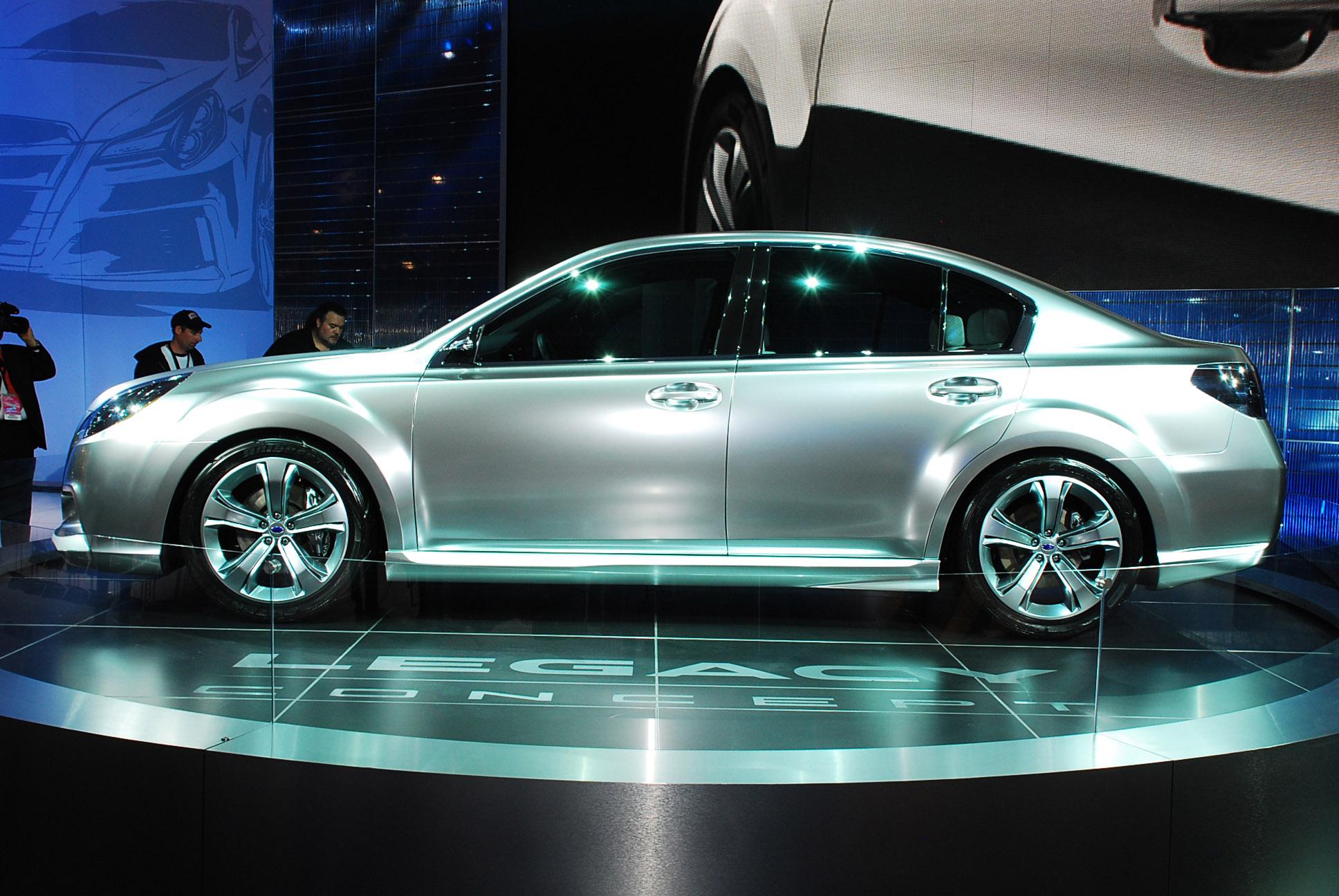 Hyundai hnd 9 concept sketch subaru legacy concept detroit 2009 vanachro Image collections