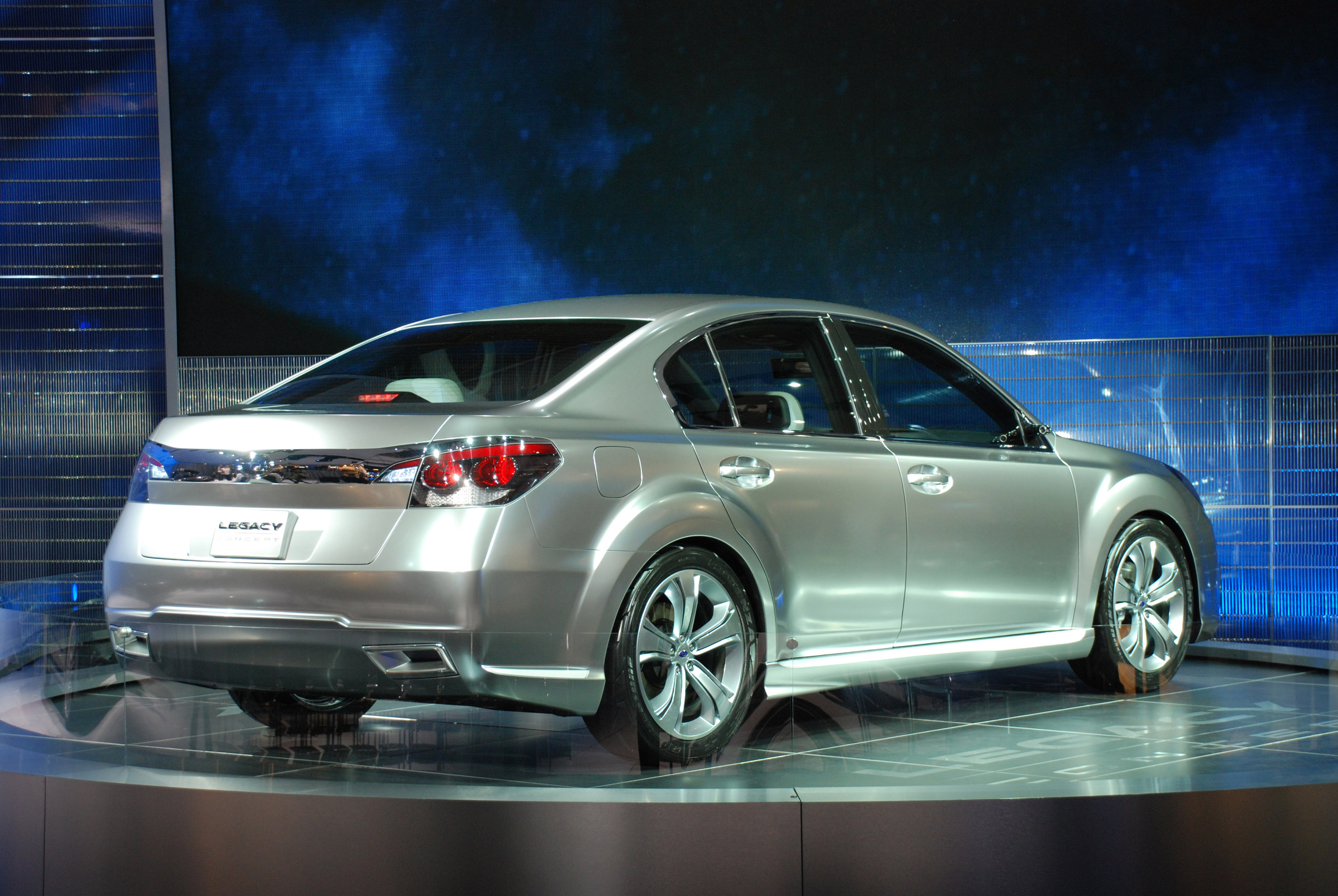 Subaru legacy concept 2009 hd pictures automobilesreview thumbnail image 1 of this gallery thumbnail image 2 of this gallery vanachro Image collections