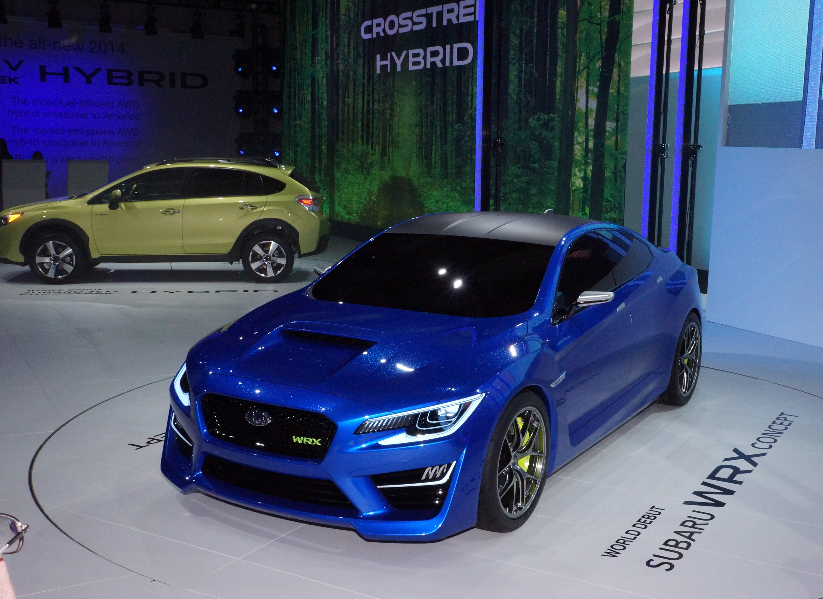 Subaru Wrx Concept New York 2013 Picture 83817