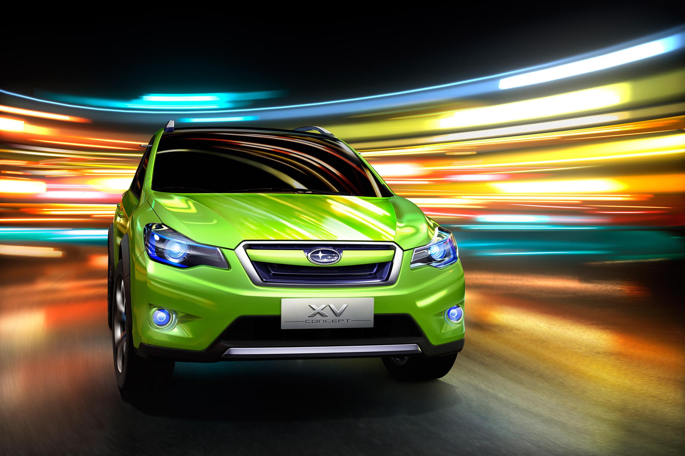 На проходящем в Шанхае автосалоне компания Subaru представила