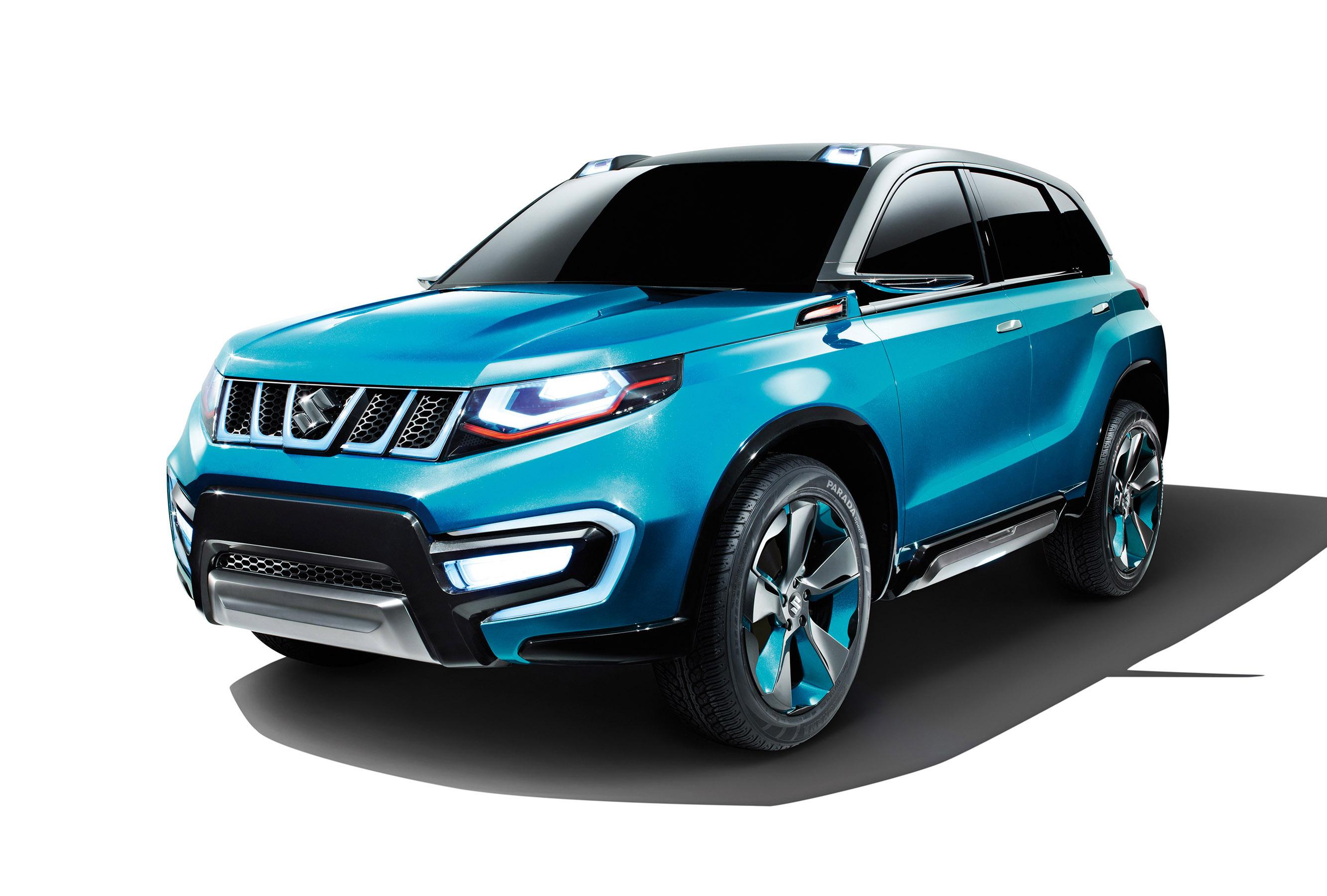 Suzuki Iv 4 Compact Suv Concept