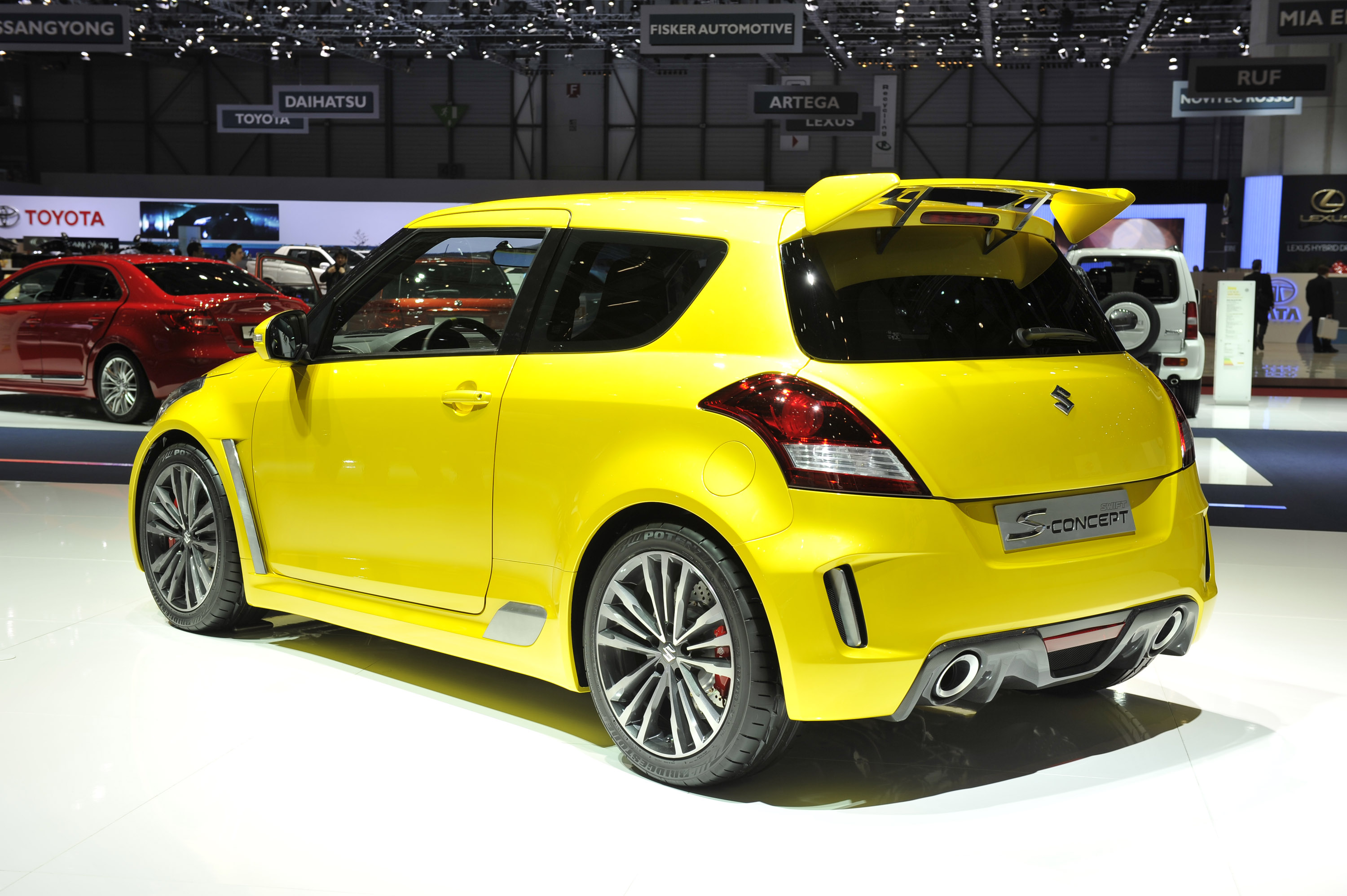 Suzuki Swift S Concept Geneva 2011 Picture 50346