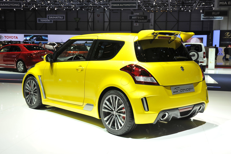 Suzuki Swift S Concept Geneva 2011 Picture 50346