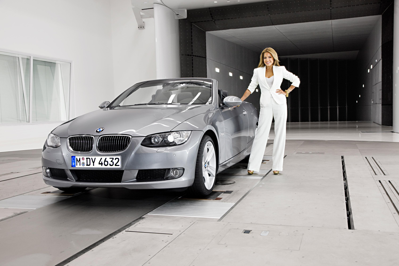 photo of Sylvie Meis BMW - car