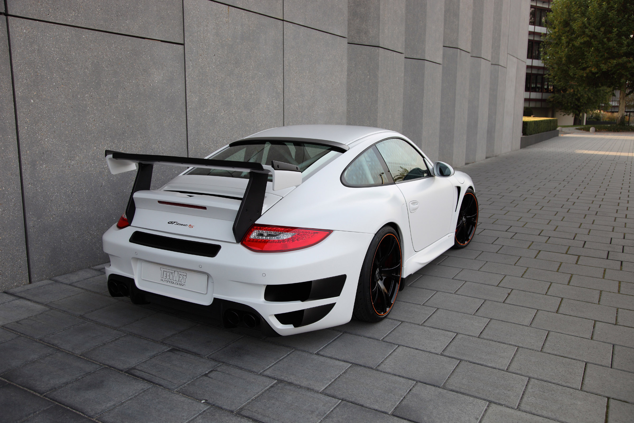 Techart Porsche Gt Street Rs In Frankfurt Video