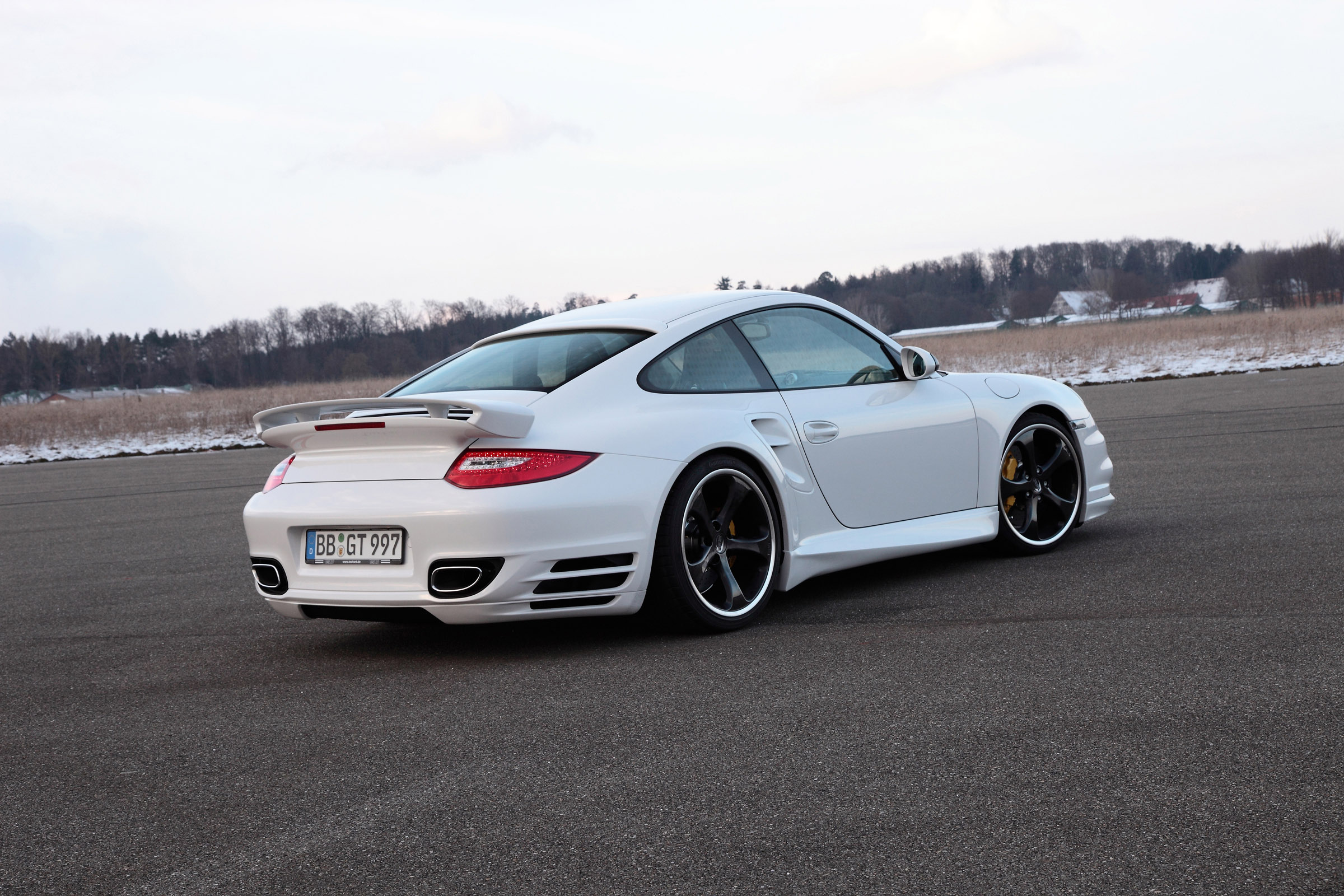 2010 Techart Porsche 911 Turbo S Boosted By New Power Kit